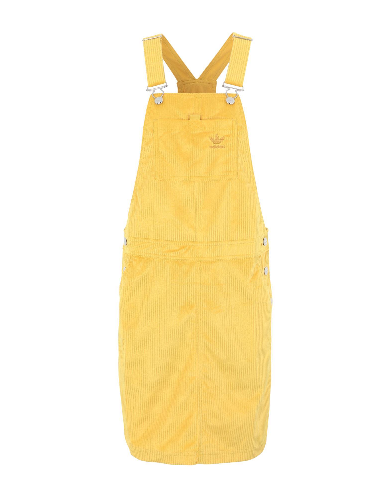 《セール開催中》ADIDAS ORIGINALS レディース ジャンパースカート オークル 32 ポリエステル 100% DRESS