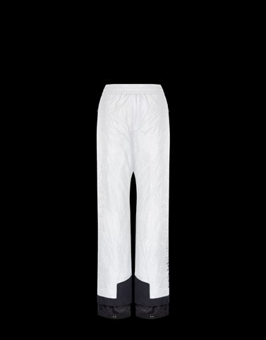 SKI TROUSERS White Grenoble Ski Suits Woman