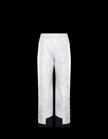 SKI TROUSERS White Trousers Man