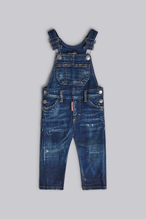 Unisex Salopette pantalon long Taille 9-12 98% Coton 2% Élasthanne - Dsquared2 - Modalova