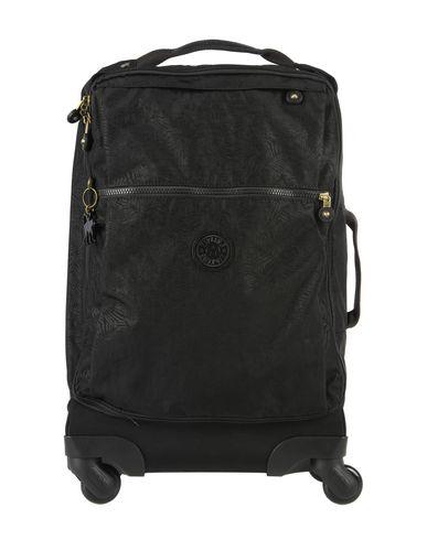 KIPLING レディース キャスター付きバッグ ブラック 紡績繊維