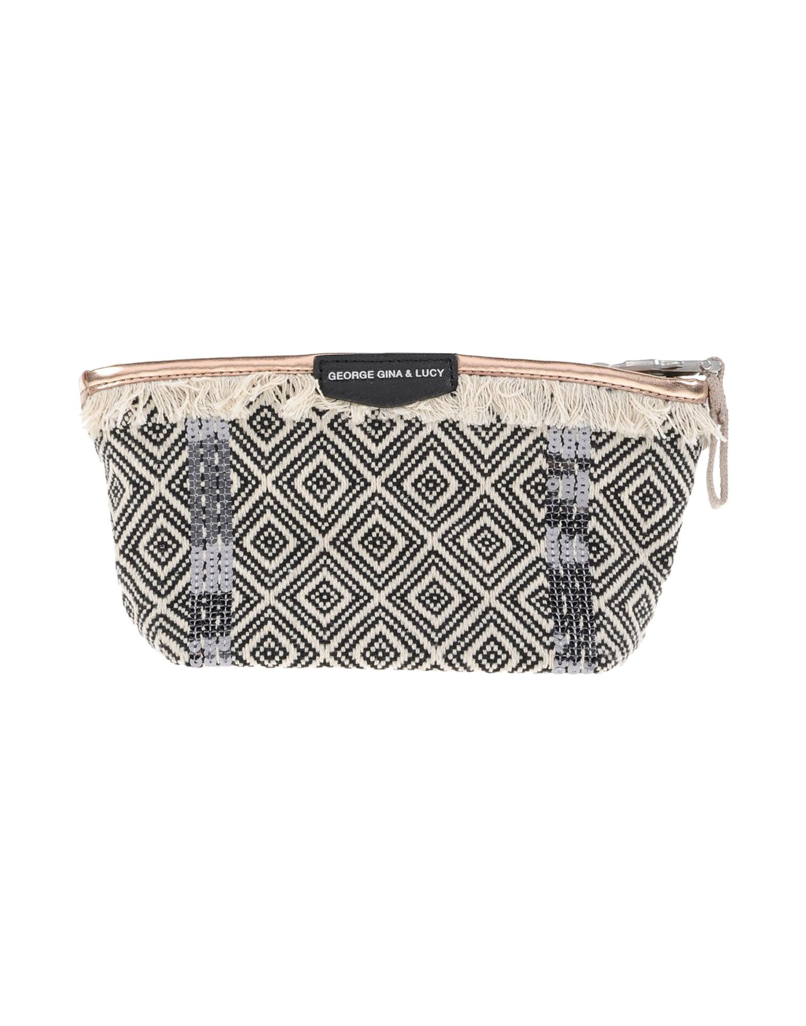 Фото - GEORGE GINA & LUCY Beauty case women cosmetic bag travel lattice pattern makeup case zipper make up bags organizer storage pouch toiletry kit wash beauty bags