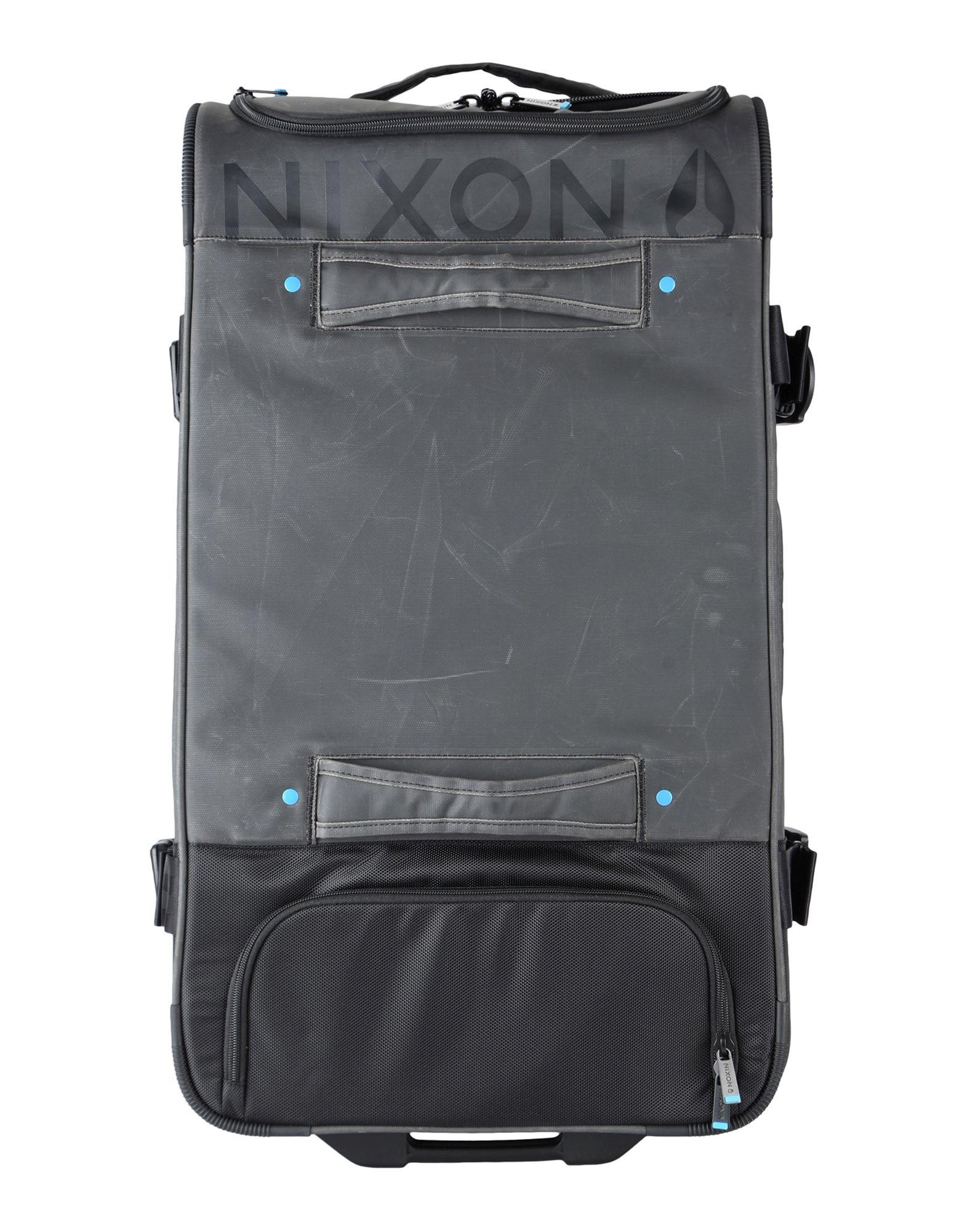 メンズ NIXON キャスター付きバッグ ブラック