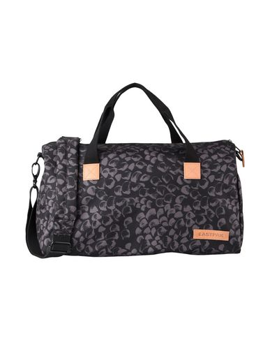 EASTPAK レディース 旅行バッグ ブラック 紡績繊維 / 革