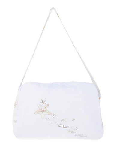 ALVIERO MARTINI 1a CLASSE ガールズ 3-8 歳 マザーズバッグ ホワイト コットン 90% / ナイロン 10%