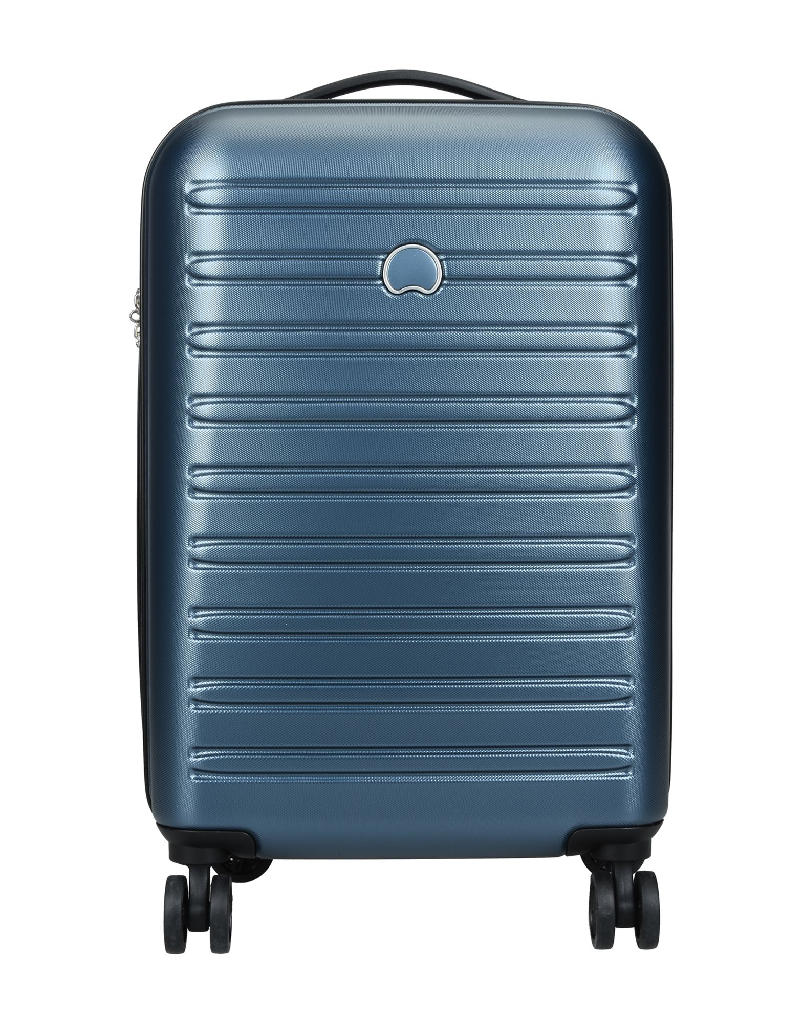 《期間限定セール中》DELSEY Unisex キャスター付きバッグ ブルー ポリカーボネート 100% SEGUR