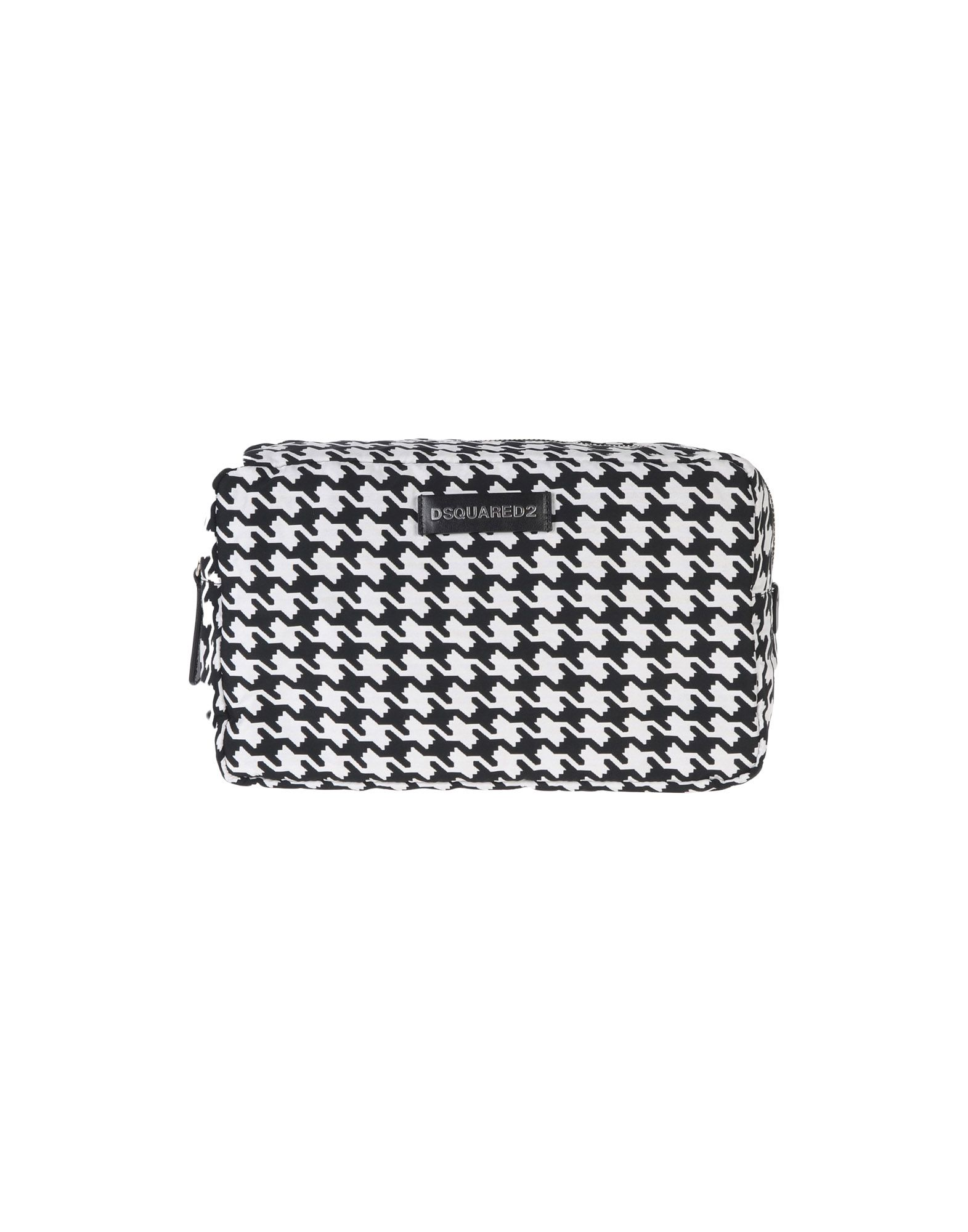 Фото - DSQUARED2 Beauty case women cosmetic bag travel lattice pattern makeup case zipper make up bags organizer storage pouch toiletry kit wash beauty bags