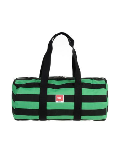 SHOESHINE レディース 旅行バッグ グリーン コットン 100%