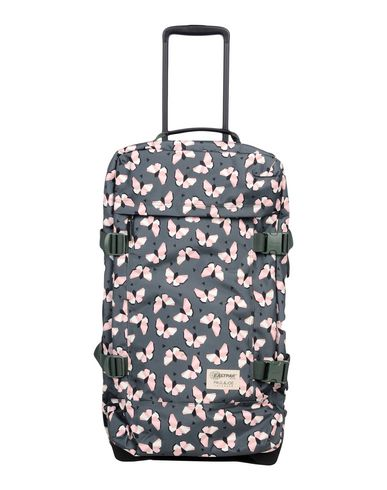 EASTPAK レディース キャスター付きバッグ グリーン 紡績繊維