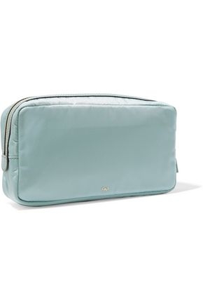 ANYA HINDMARCH Cables & Chargers leather-trimmed shell cosmetic case