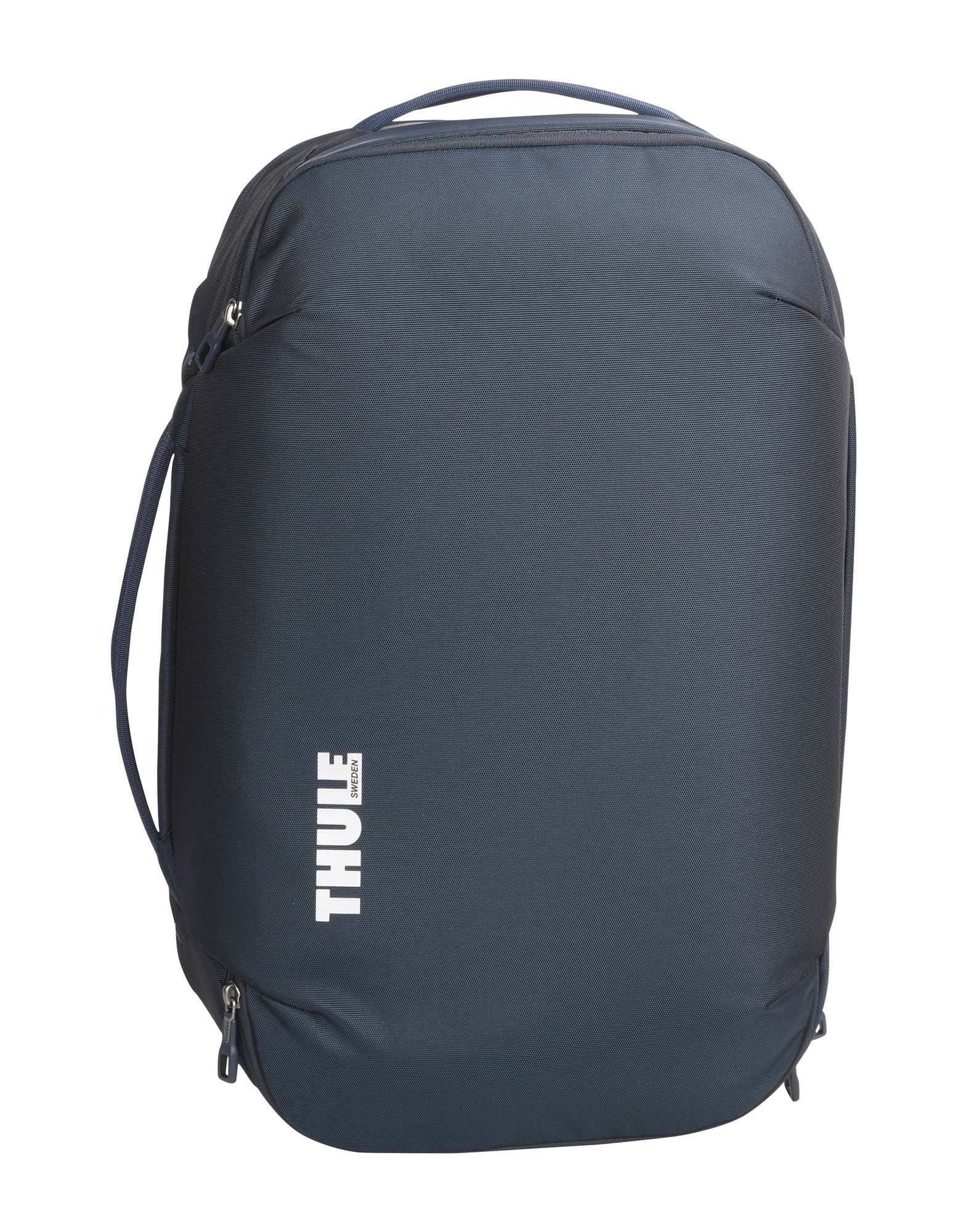 THULE® Suitcases. techno fabric, no appliqués, zip closure, solid color, removable shoulder strap, lined interior. Textile fibers