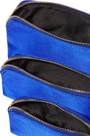 DIANE VON FURSTENBERG Set of three satin pouches