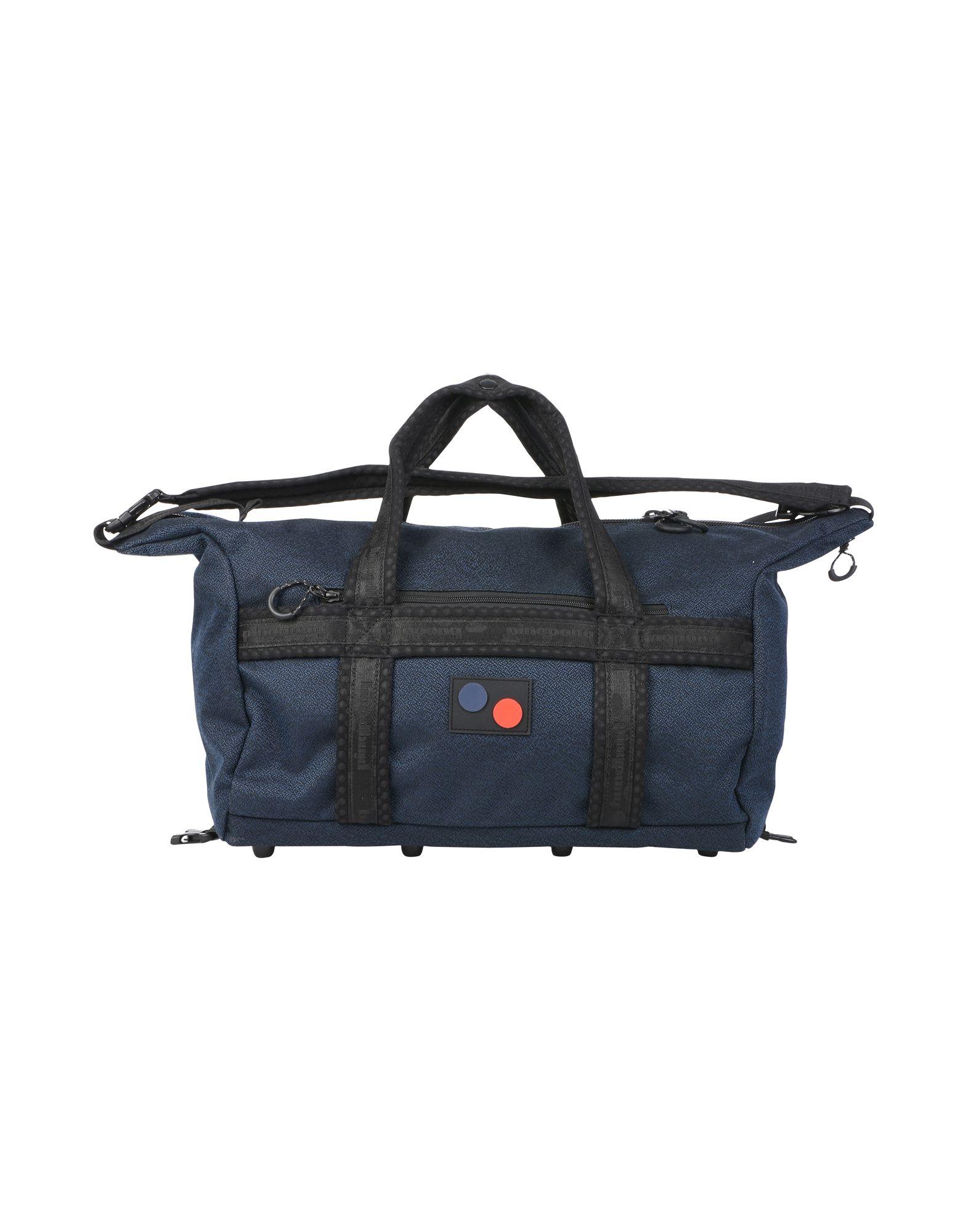 《送料無料》PINQPONQ Unisex 旅行バッグ ブルー ポリエステル 100% KARAVAN