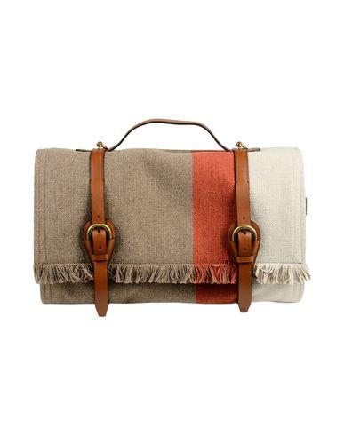 TORY BURCH レディース 旅行バッグ グレー 紡績繊維 / 革