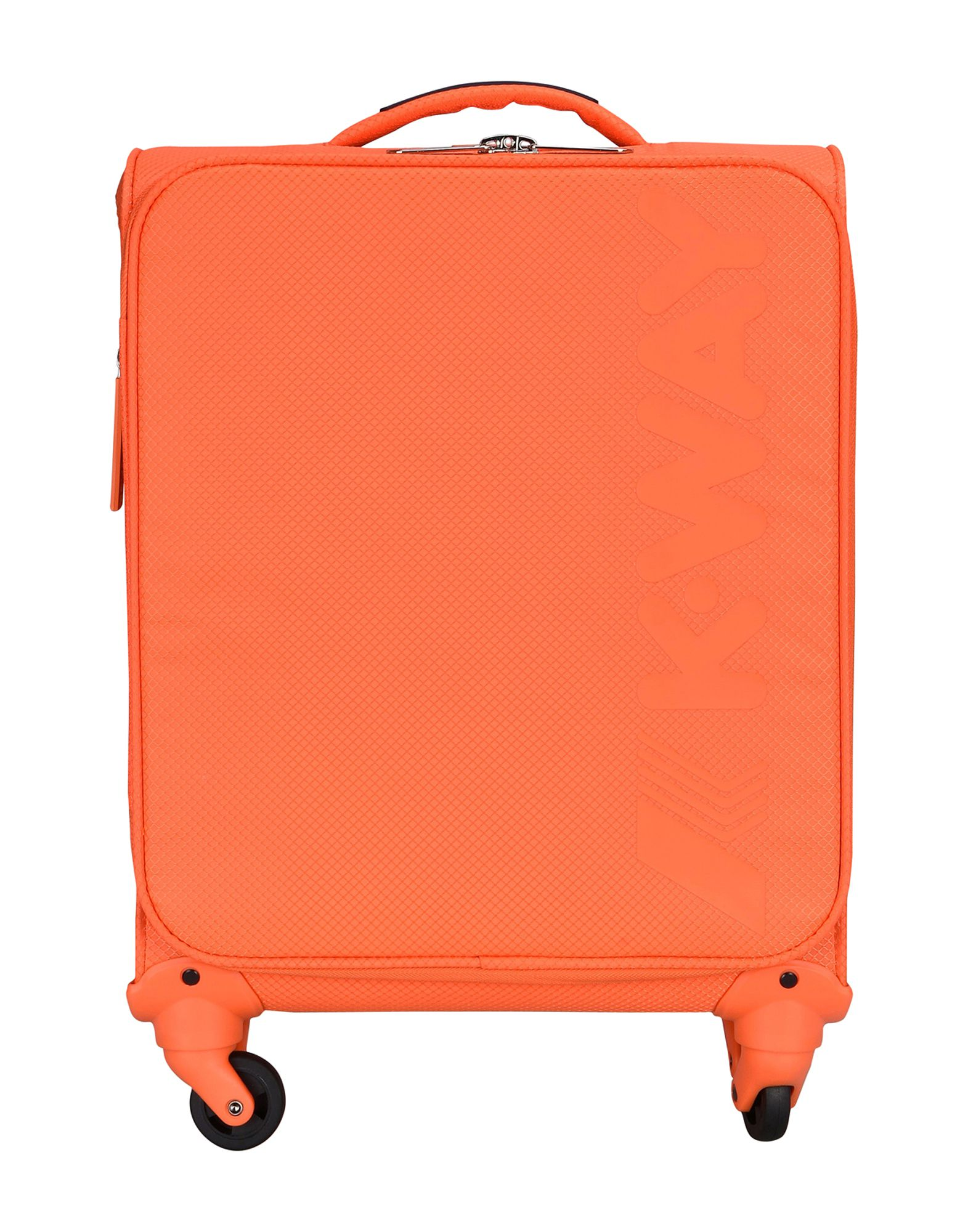 ユニセックス K-WAY キャスター付きバッグ オレンジ