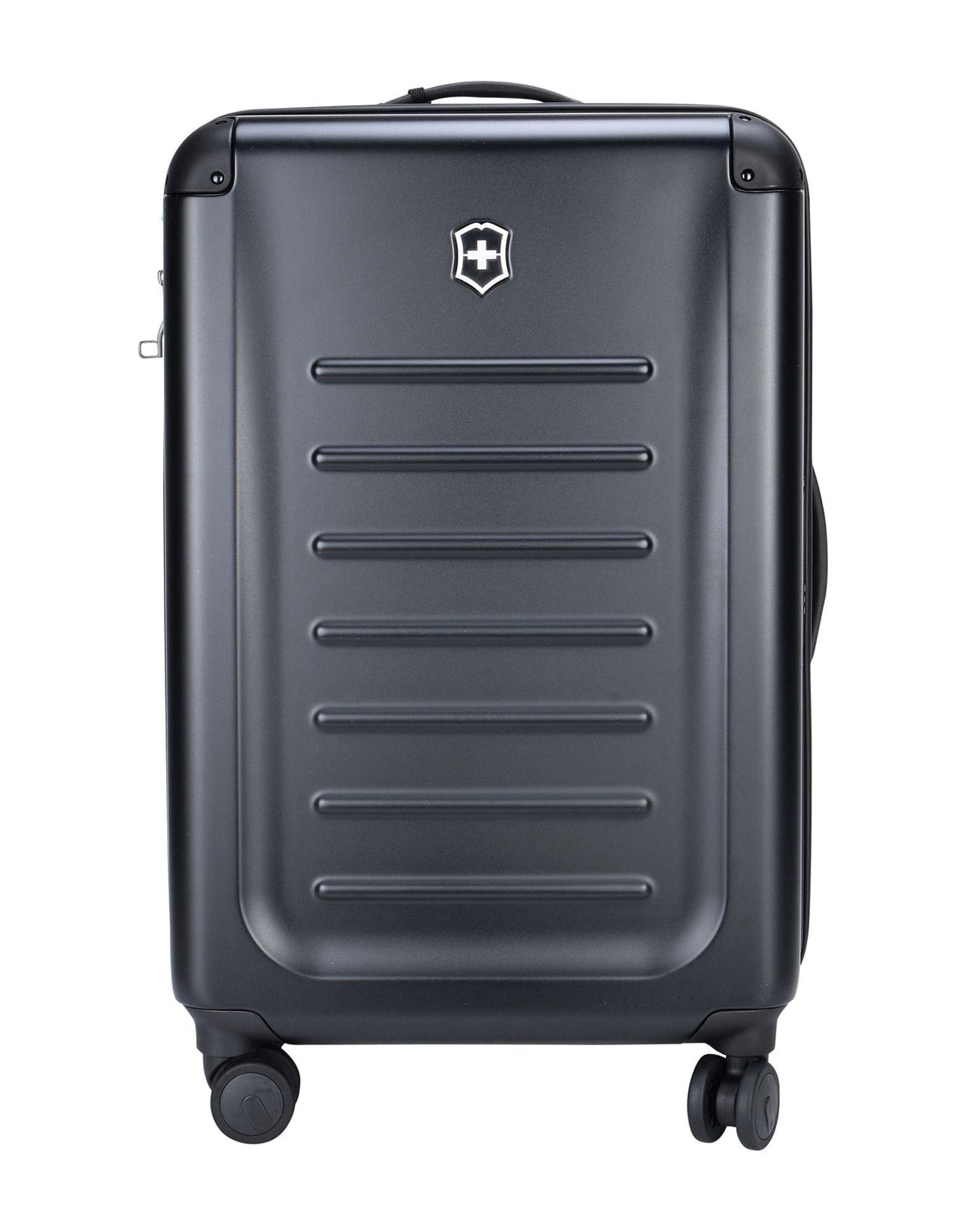 《セール開催中》VICTORINOX Unisex キャスター付きバッグ ブラック ポリエチレン SPECTRA 2.0 MEDIUM