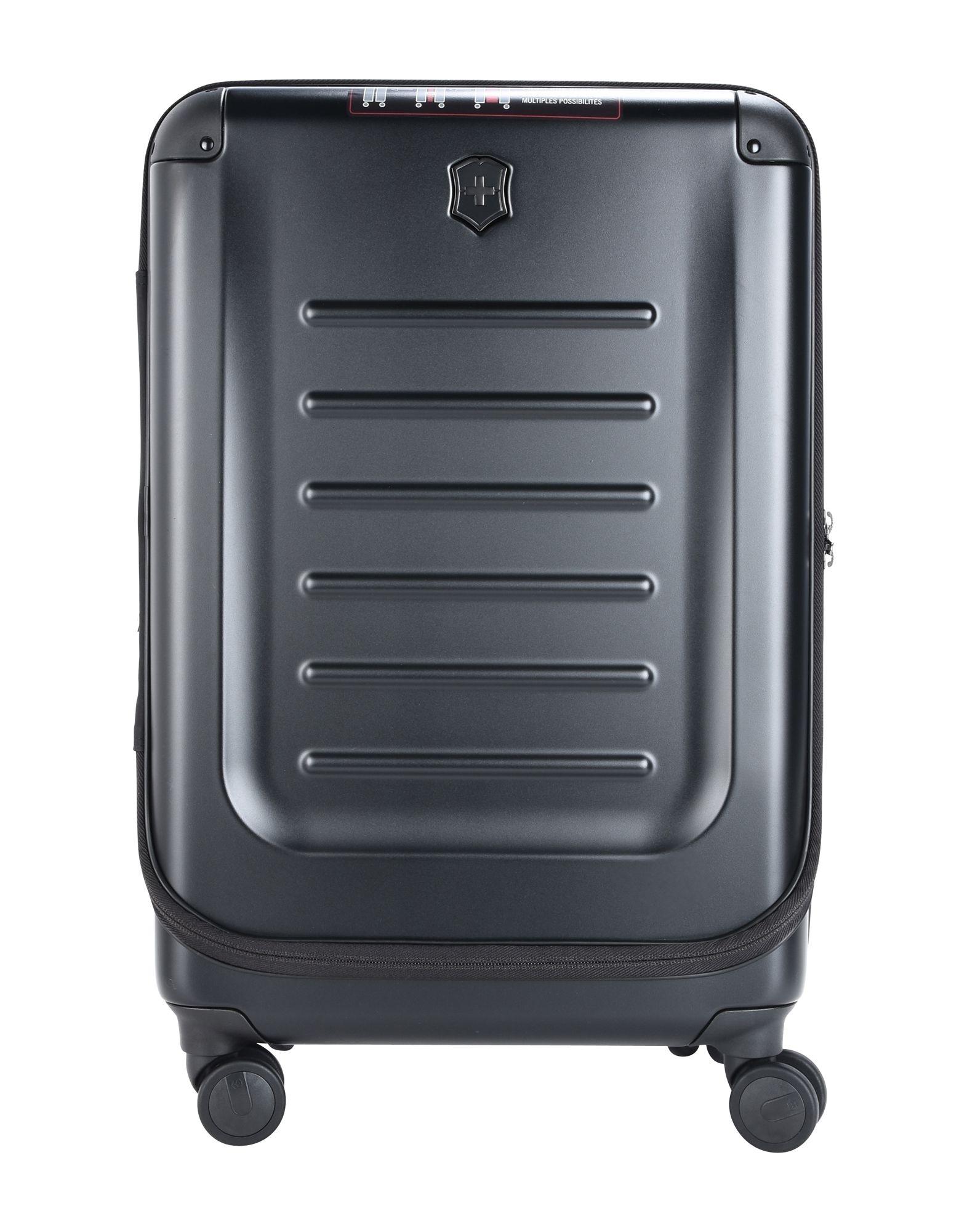 《セール開催中》VICTORINOX Unisex キャスター付きバッグ ブラック ポリエチレン SPECTRA 2.0 MEDIUM EXPANDABLE