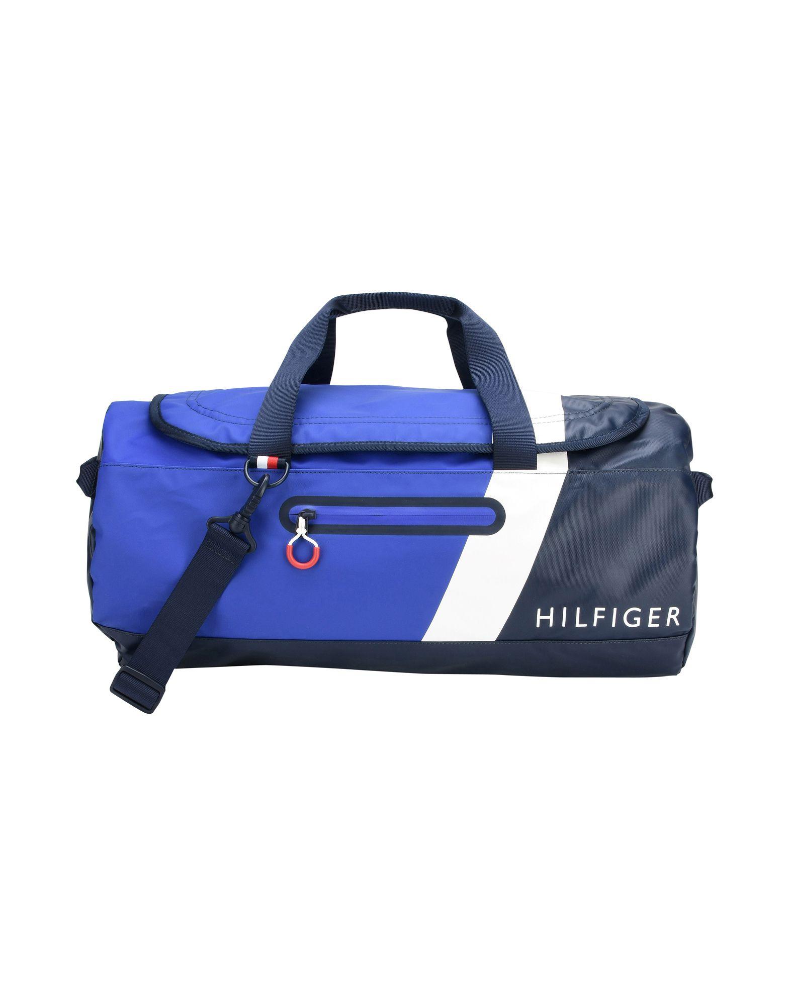 メンズ トミー ヒルフィガー 旅行バッグ ブルー