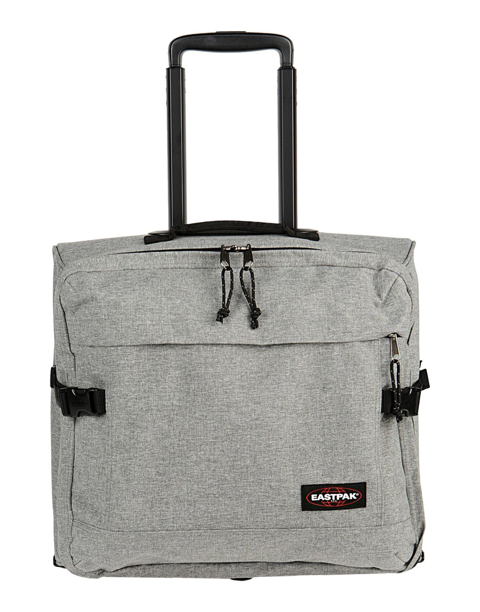 YOOX.COM(ユークス)《送料無料》EASTPAK Unisex キャスター付きバッグ グレー 紡績繊維