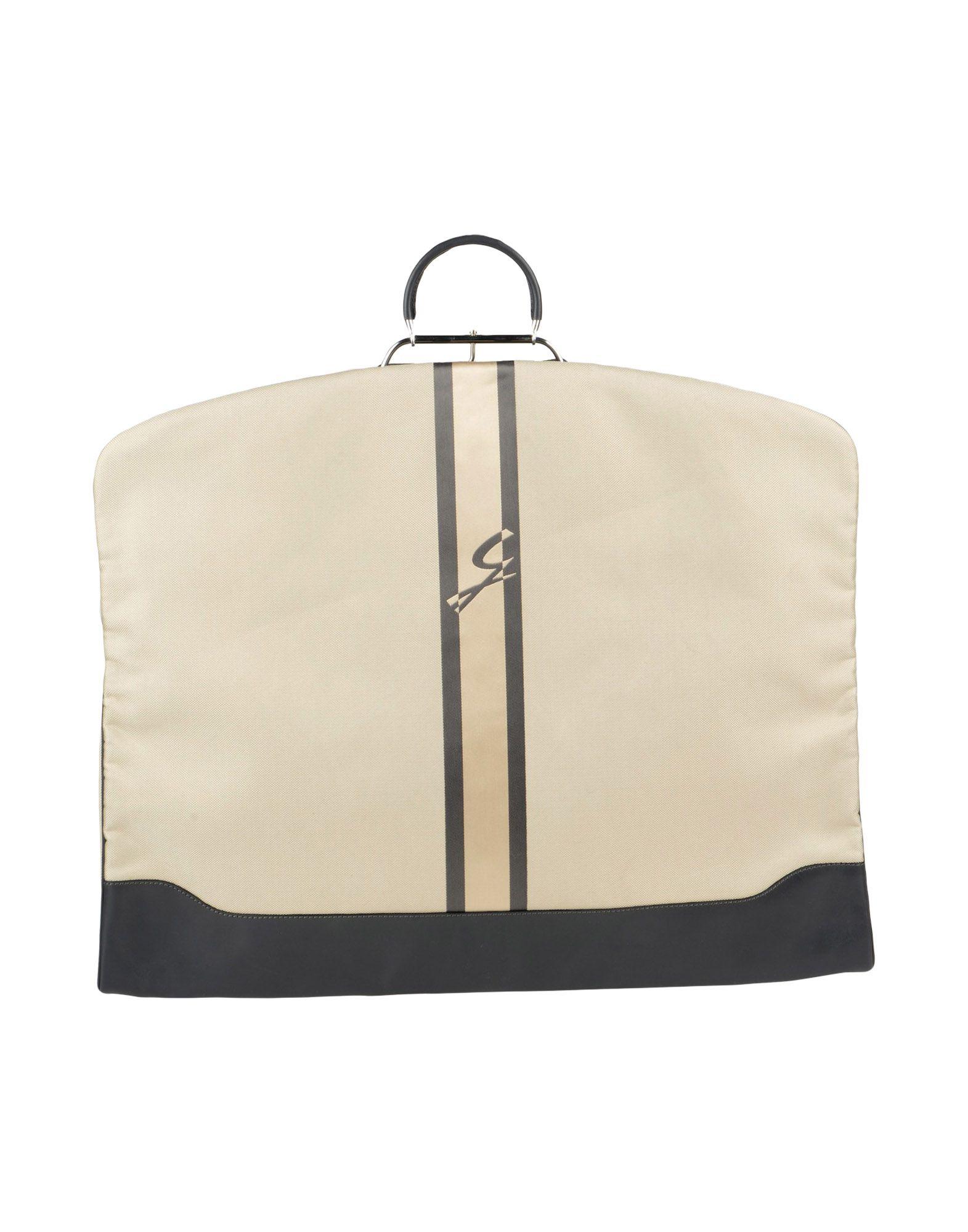 《送料無料》GATTINONI レディース スーツバッグ ベージュ 紡績繊維