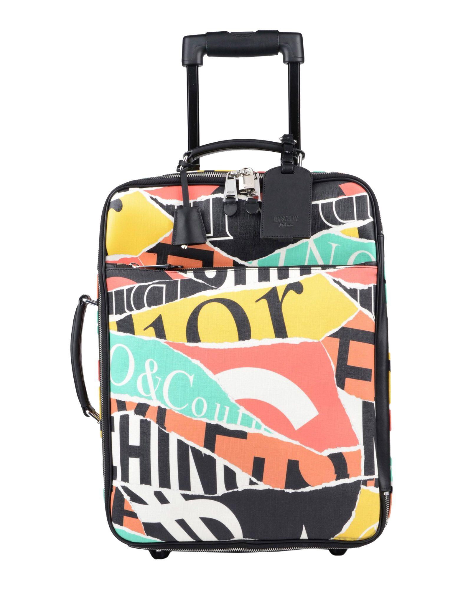 MOSCHINO Чемодан/сумка на колесиках kipling чемодан сумка на колесиках