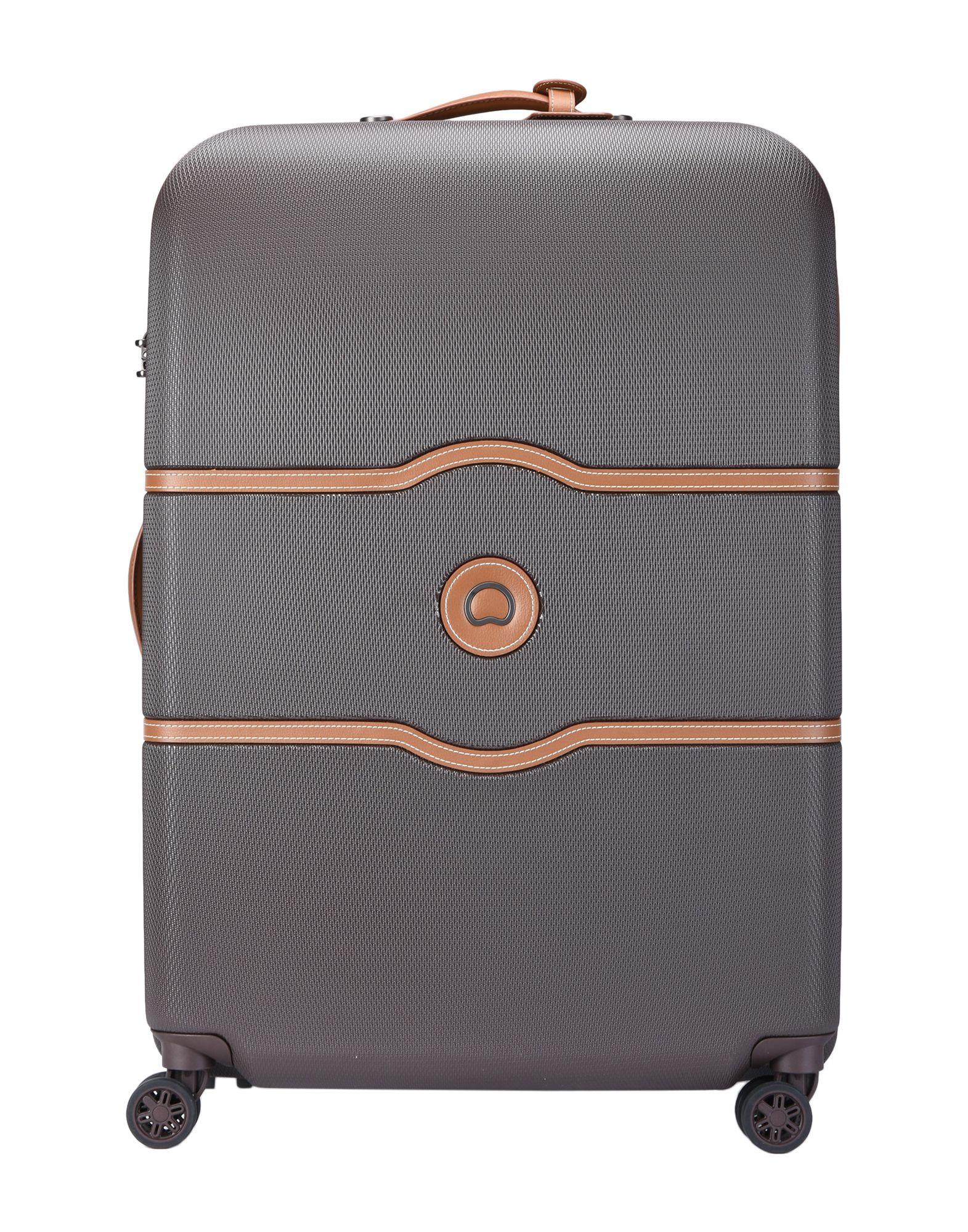 《期間限定セール中》DELSEY Unisex キャスター付きバッグ ココア ポリカーボネート 100% CHATELET AIR