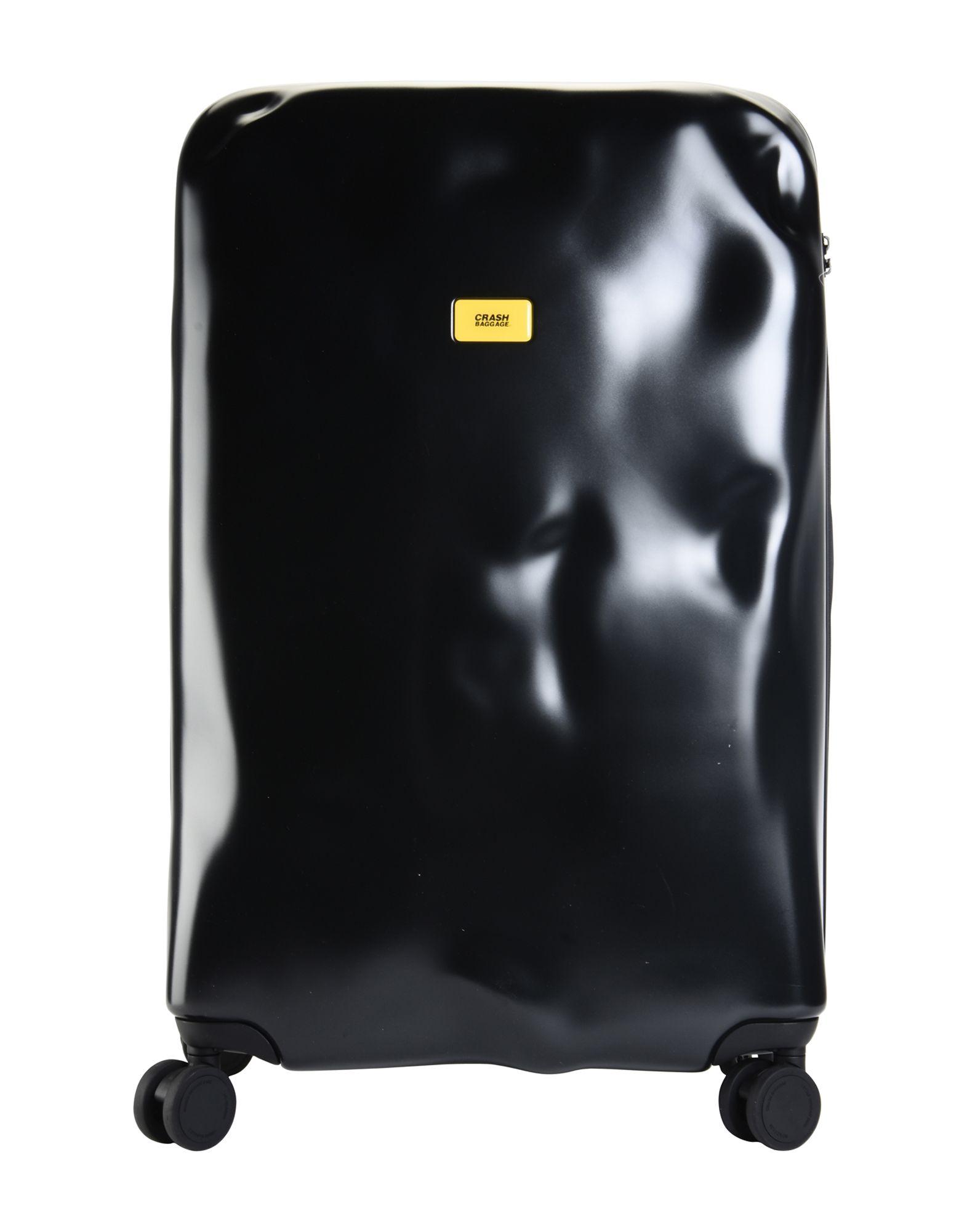 YOOX.COM(ユークス)《送料無料》CRASH BAGGAGE Unisex キャスター付きバッグ ブラック ポリカーボネート ICON Large 4w.