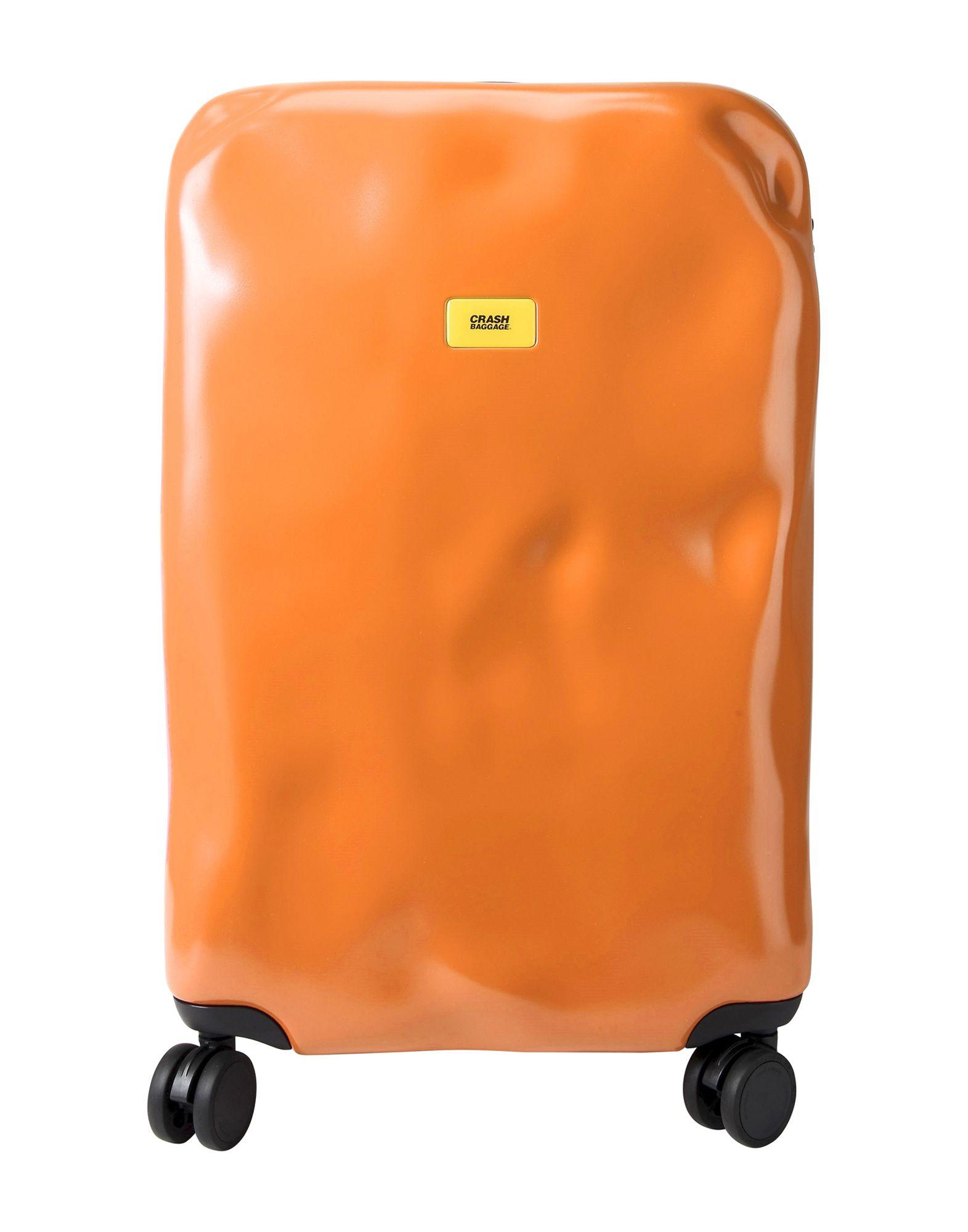 《送料無料》CRASH BAGGAGE Unisex キャスター付きバッグ オレンジ ポリカーボネート PIONEER Medium 4w.