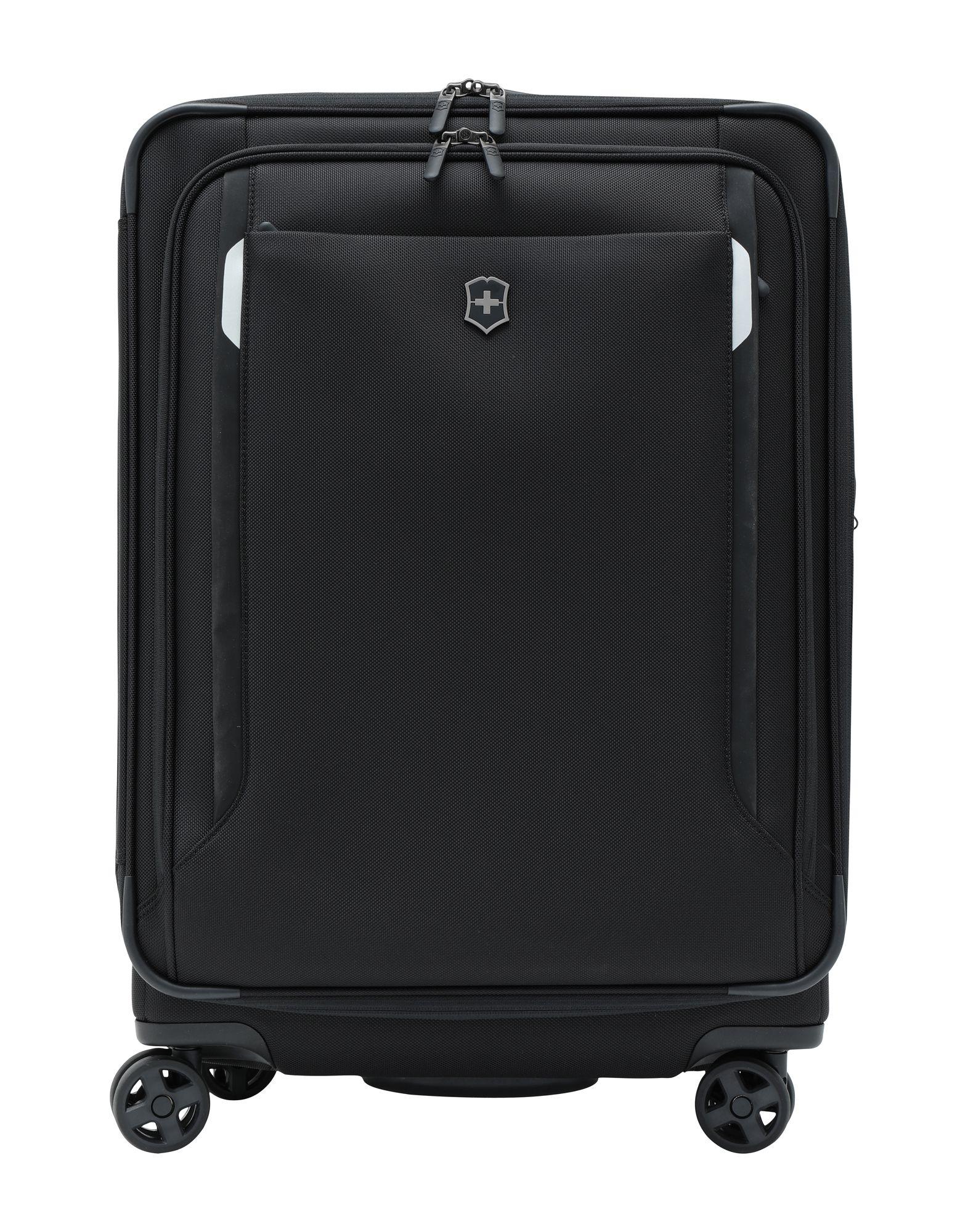 《セール開催中》VICTORINOX Unisex キャスター付きバッグ ブラック EVA(エチレン?ビニール?アセテート) ポリエチレン Werks Traveler 5.0, WT 24 Dual-Caster