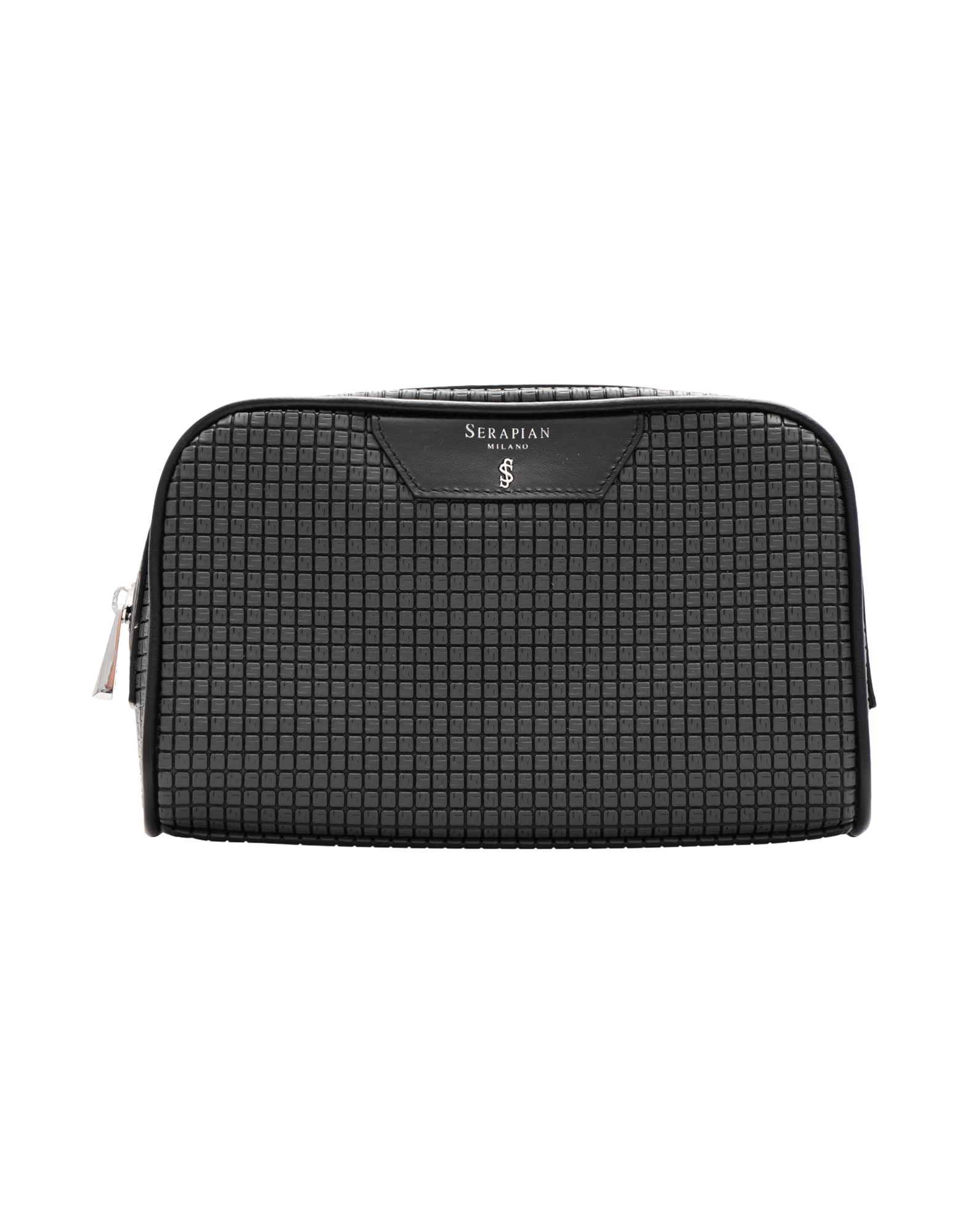 Фото - SERAPIAN Beauty case women cosmetic bag travel lattice pattern makeup case zipper make up bags organizer storage pouch toiletry kit wash beauty bags