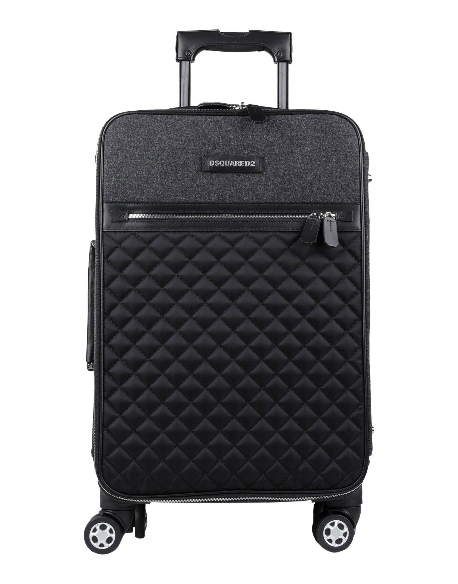 цена DSQUARED2 Чемодан/сумка на колесиках онлайн в 2017 году