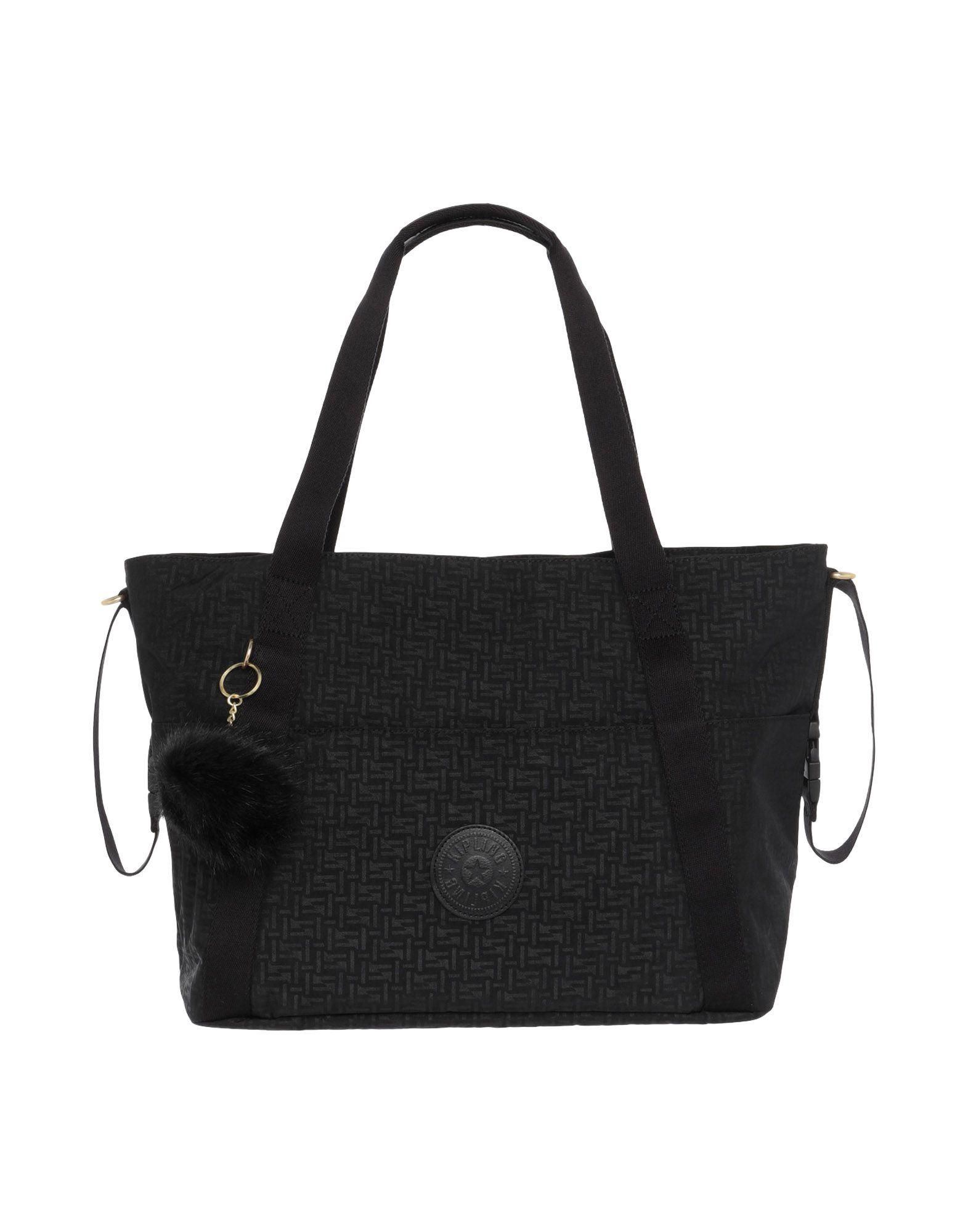 《送料無料》KIPLING レディース マザーズバッグ ブラック 紡績繊維