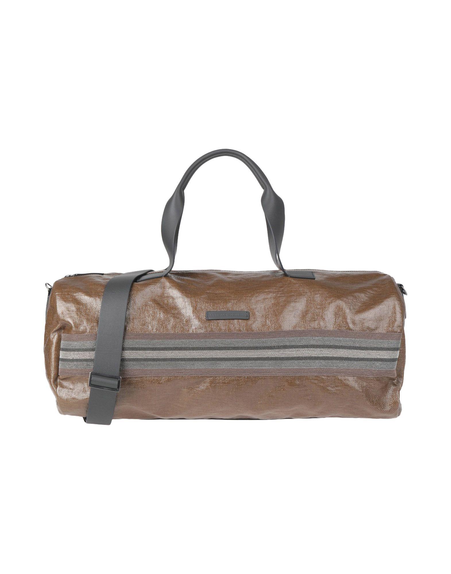 BRUNELLO CUCINELLI Дорожная сумка цена и фото