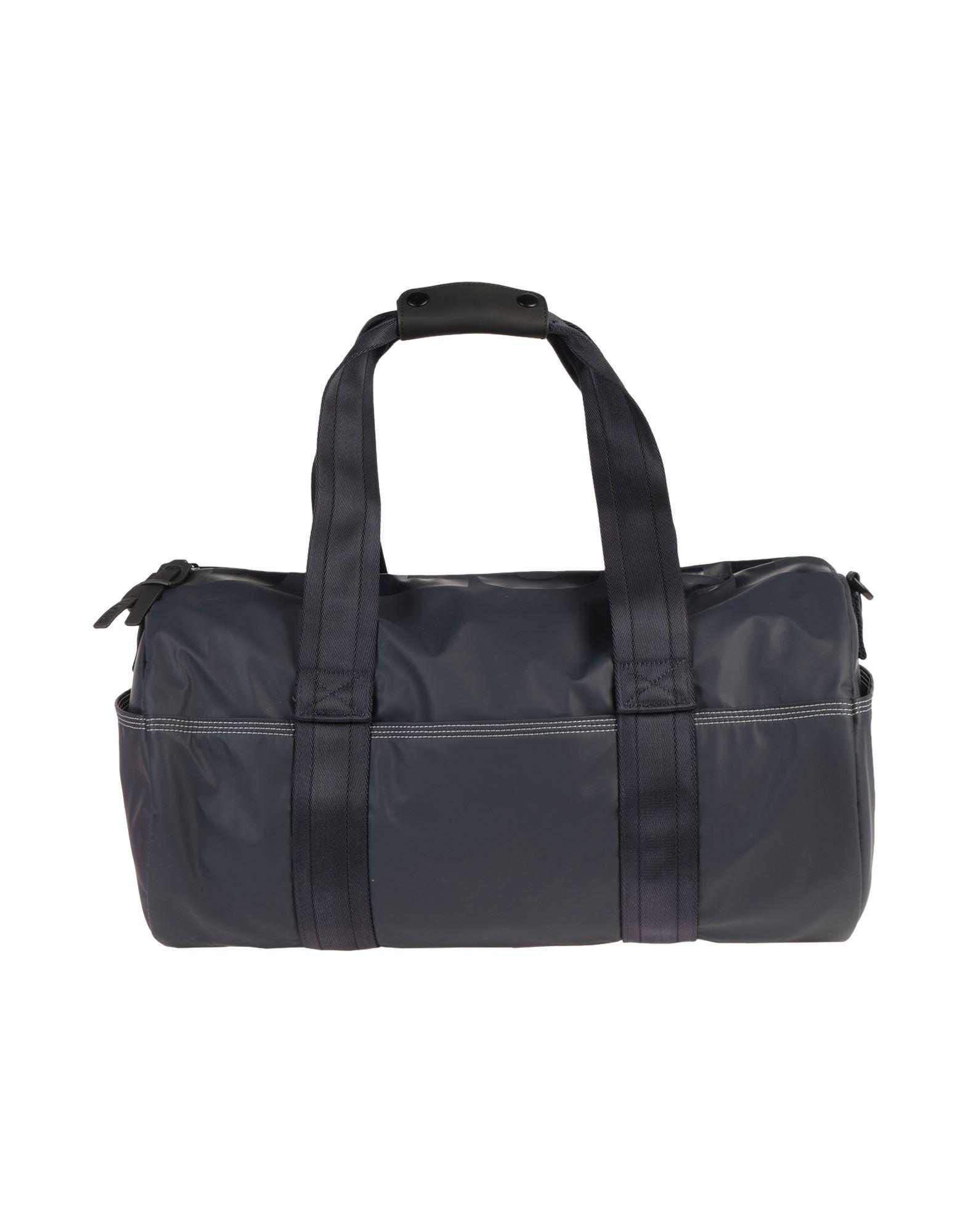 《セール開催中》DIESEL メンズ 旅行バッグ ダークブルー 紡績繊維