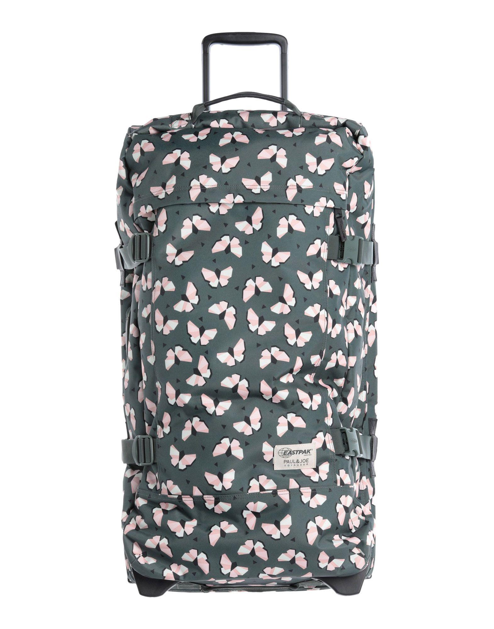 《期間限定セール中》EASTPAK Unisex キャスター付きバッグ ミリタリーグリーン 紡績繊維