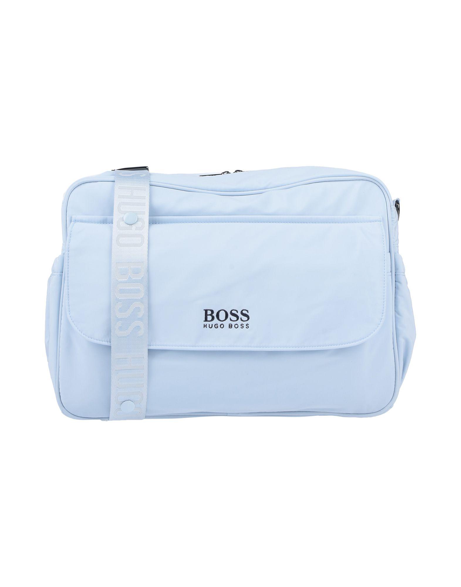 《セール開催中》BOSS ボーイズ 3-8 歳 マザーズバッグ スカイブルー ポリエステル 100%