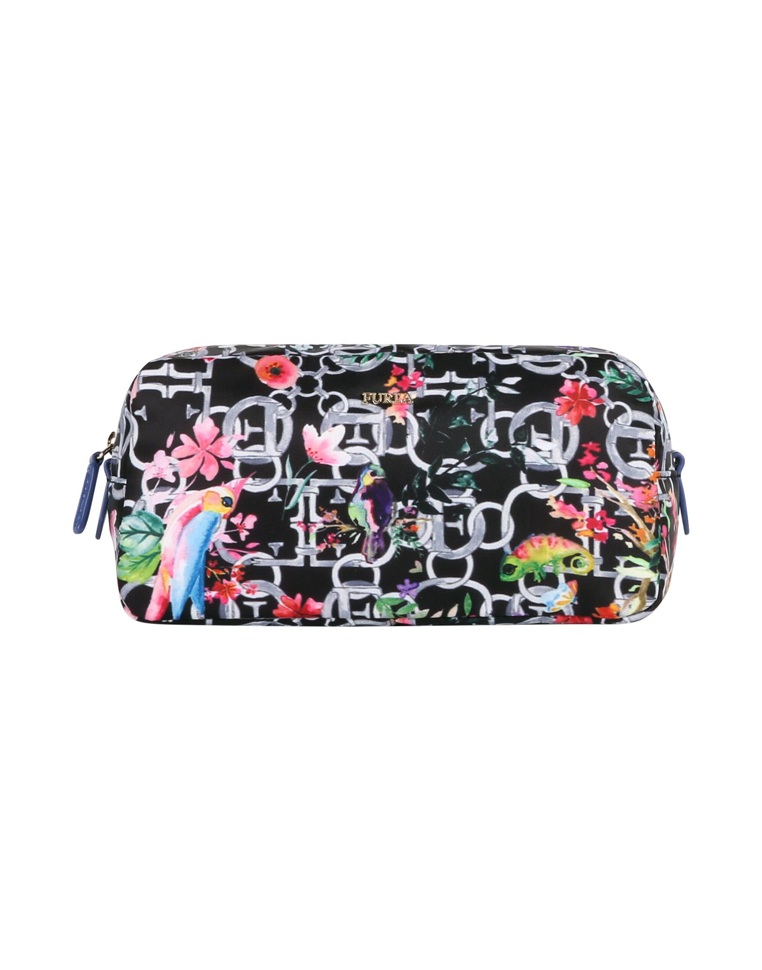 Фото - FURLA Beauty case women cosmetic bag travel lattice pattern makeup case zipper make up bags organizer storage pouch toiletry kit wash beauty bags