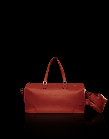 VX MAXI BOSTON Brick red Handbags Woman