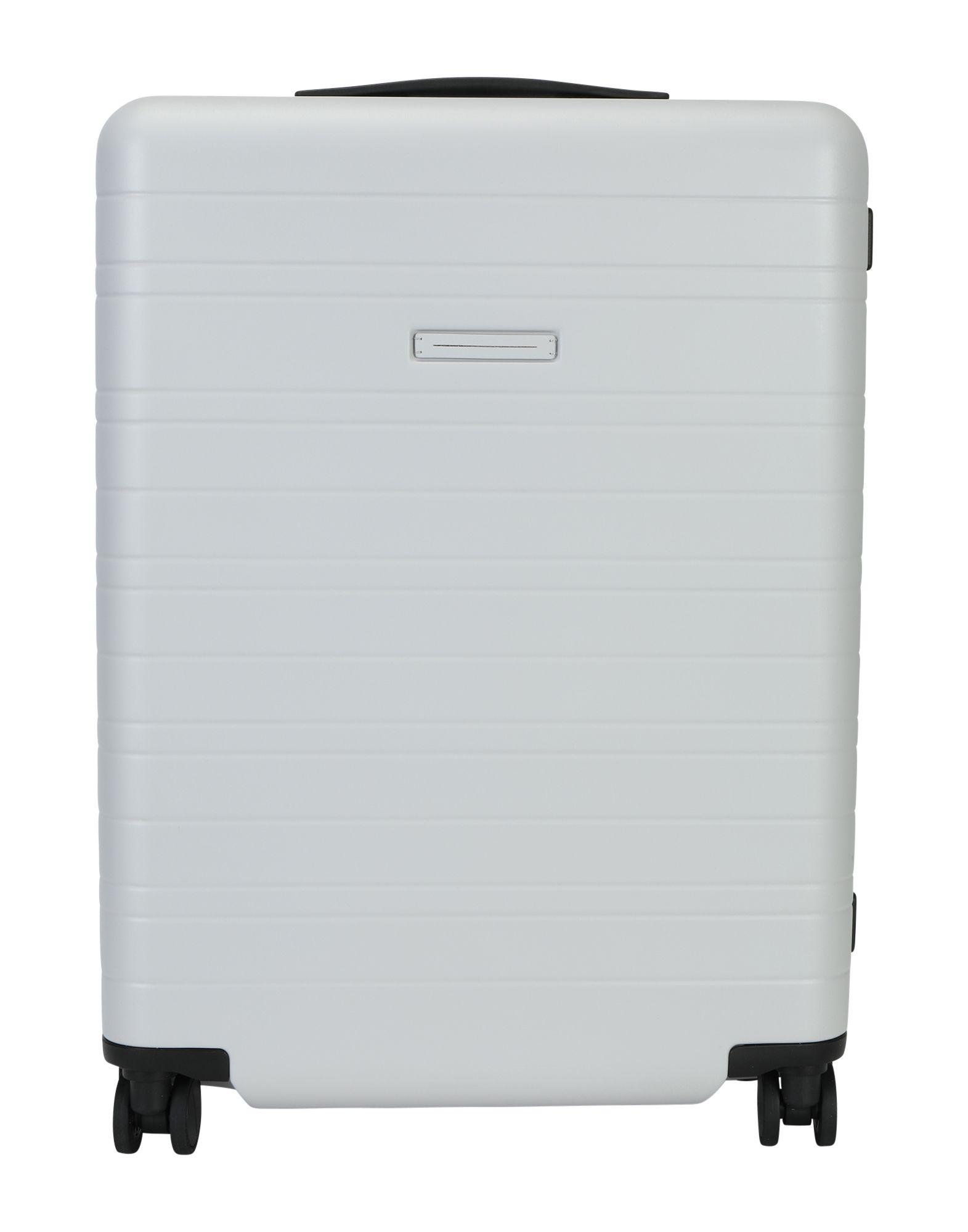 《セール開催中》HORIZN STUDIOS Unisex キャスター付きバッグ ライトグレー ポリカーボネート Check-In Trolley H6