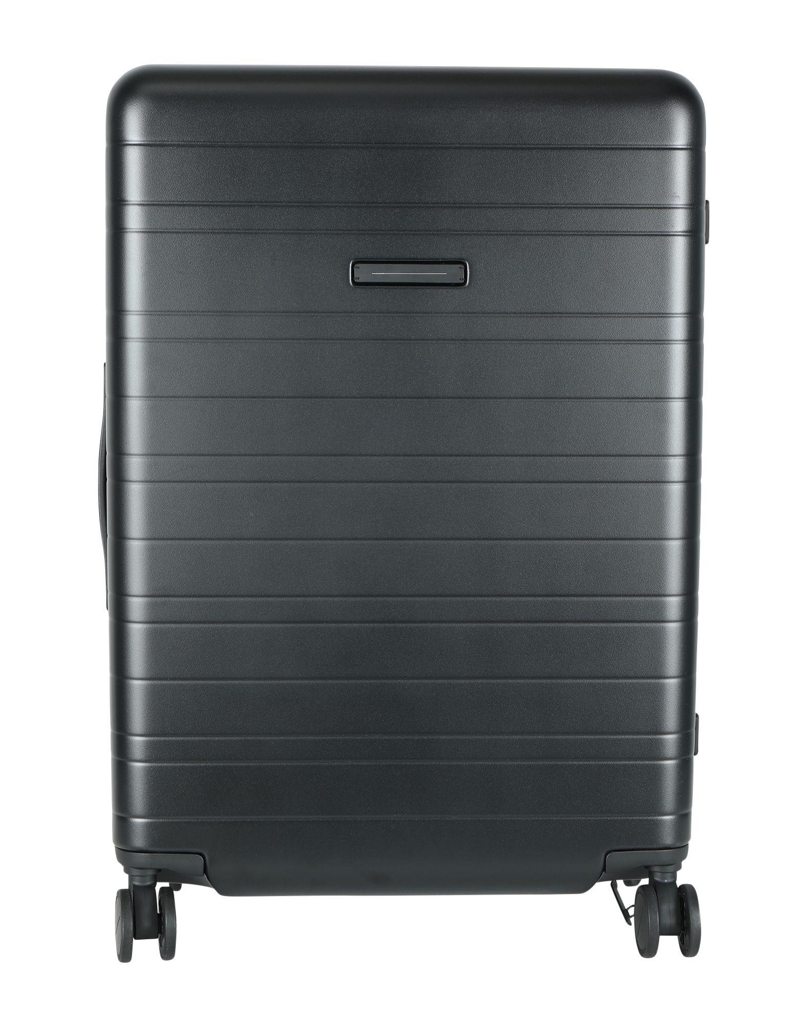 《期間限定セール開催中!》HORIZN STUDIOS Unisex キャスター付きバッグ ブラック ポリカーボネート Check-In Trolley H7
