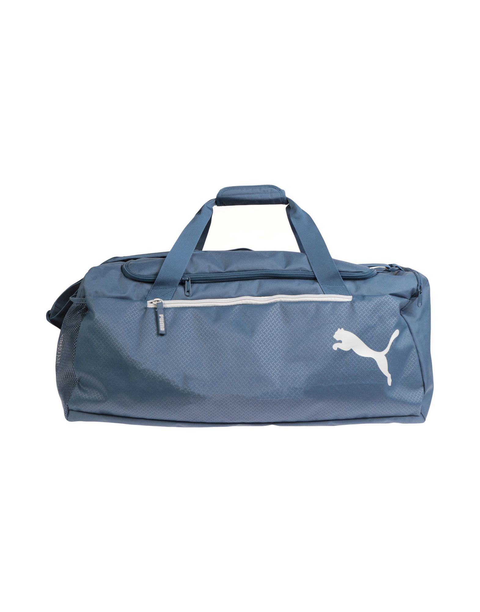 《セール開催中》PUMA Unisex 旅行バッグ ブルーグレー ポリエステル 100%