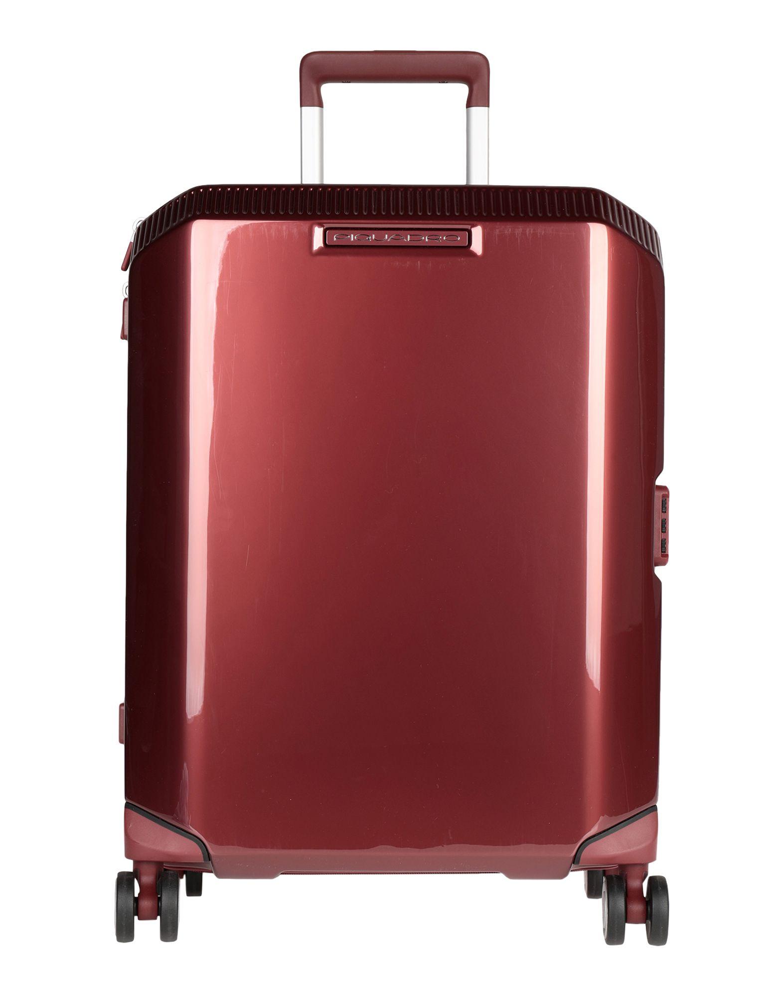 YOOX.COM(ユークス)《セール開催中》PIQUADRO Unisex キャスター付きバッグ ボルドー ポリカーボネート 100%