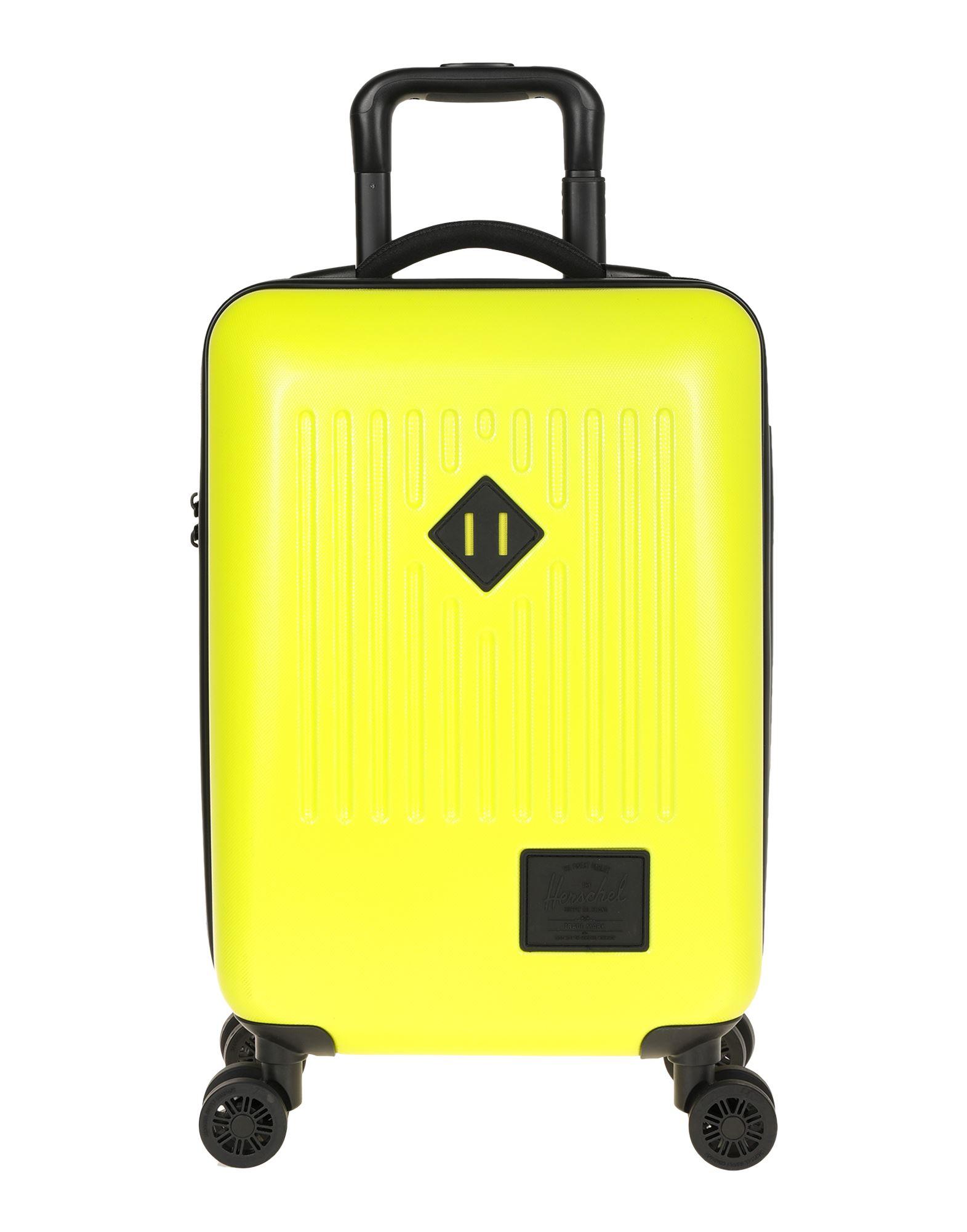 《セール開催中》HERSCHEL SUPPLY CO. Unisex キャスター付きバッグ イエロー ポリカーボネート / ABS樹脂
