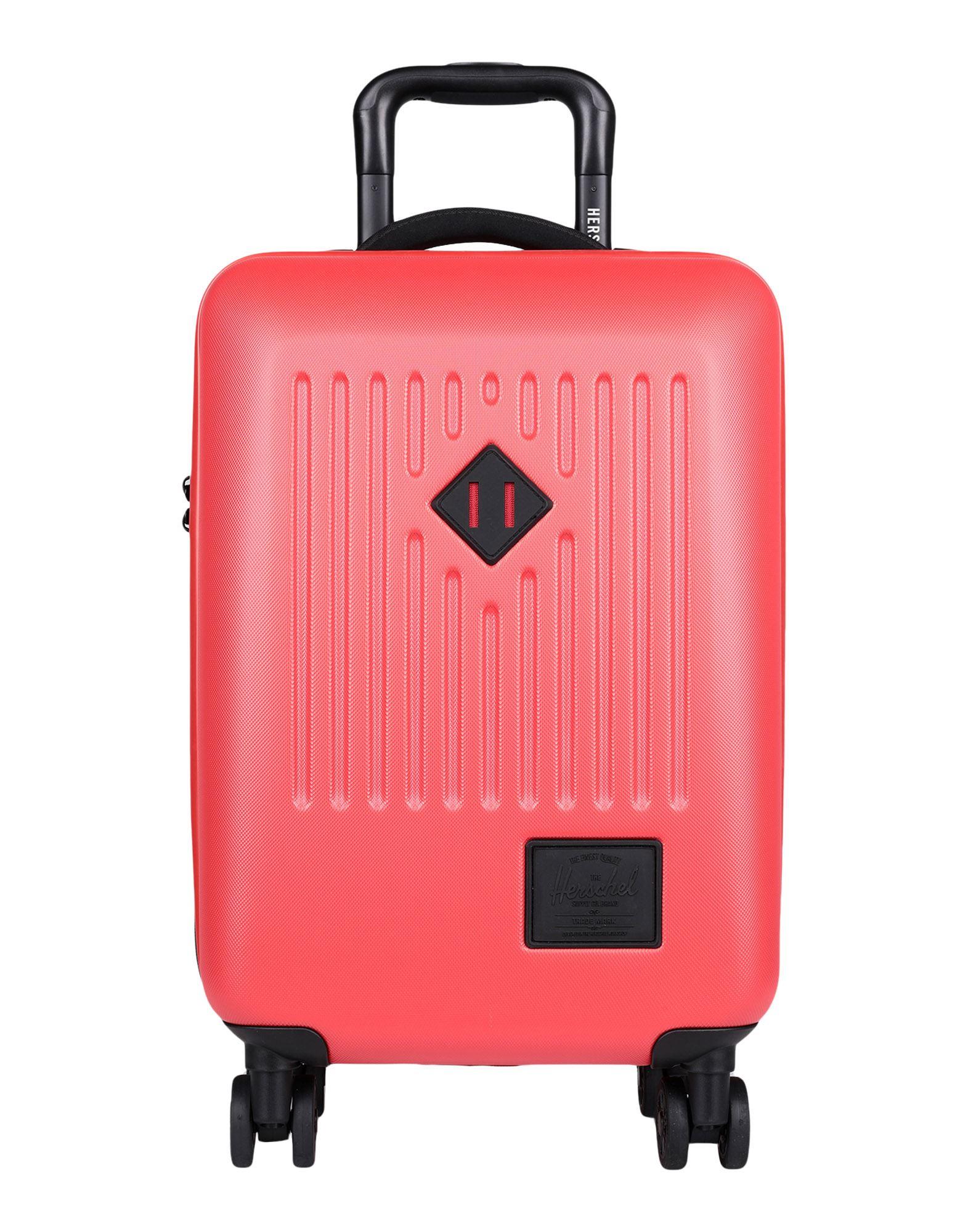 《セール開催中》HERSCHEL SUPPLY CO. Unisex キャスター付きバッグ レッド ポリカーボネート / ABS樹脂