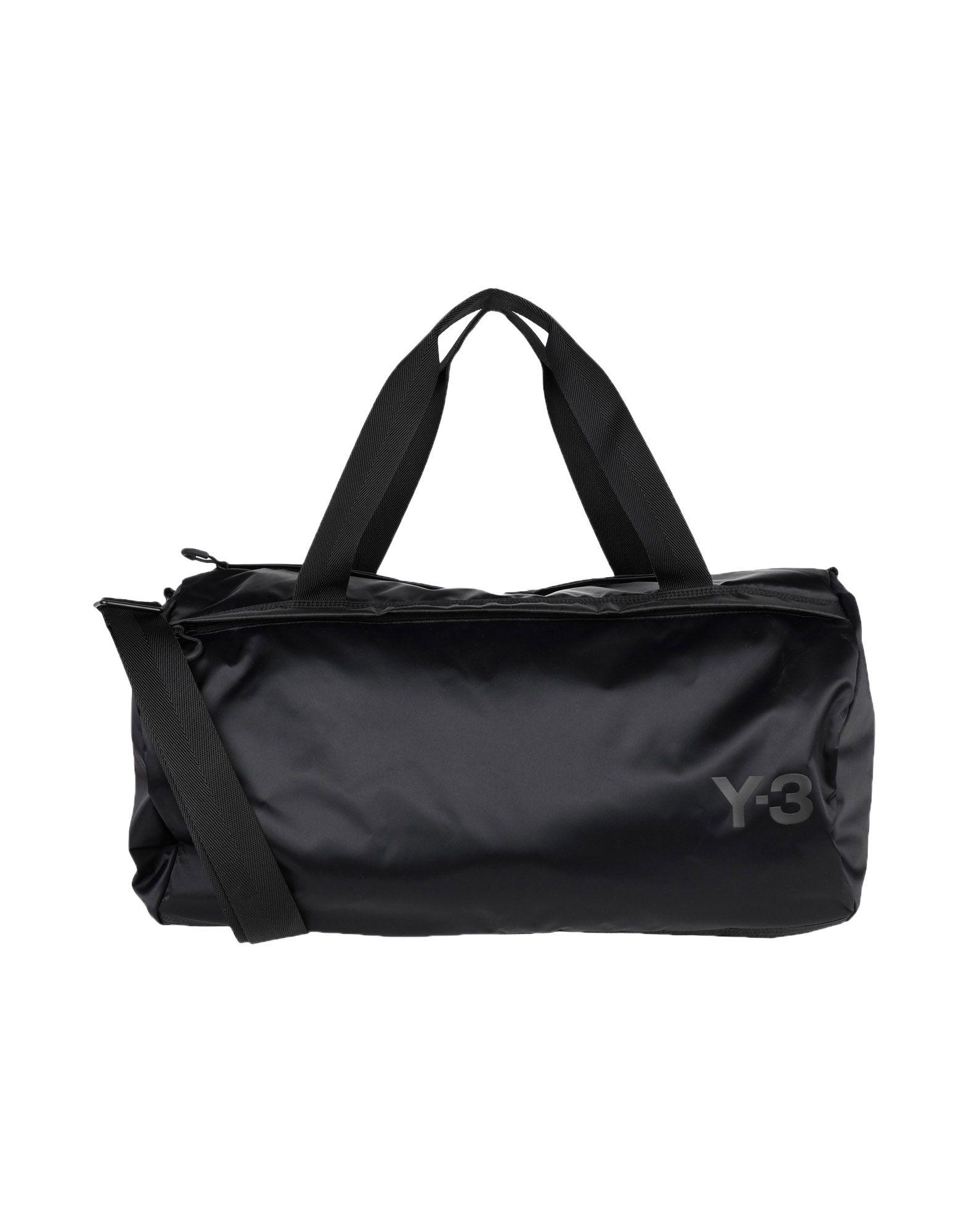 《セール開催中》Y-3 Unisex 旅行バッグ ブラック ポリエステル 100%