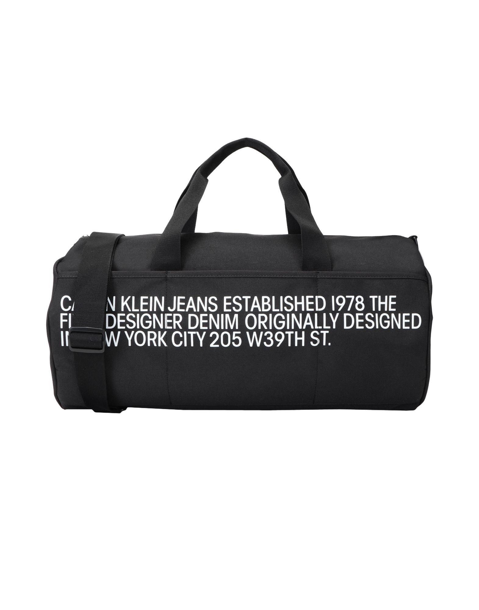 CALVIN KLEIN JEANS メンズ 旅行バッグ BARREL ブラック