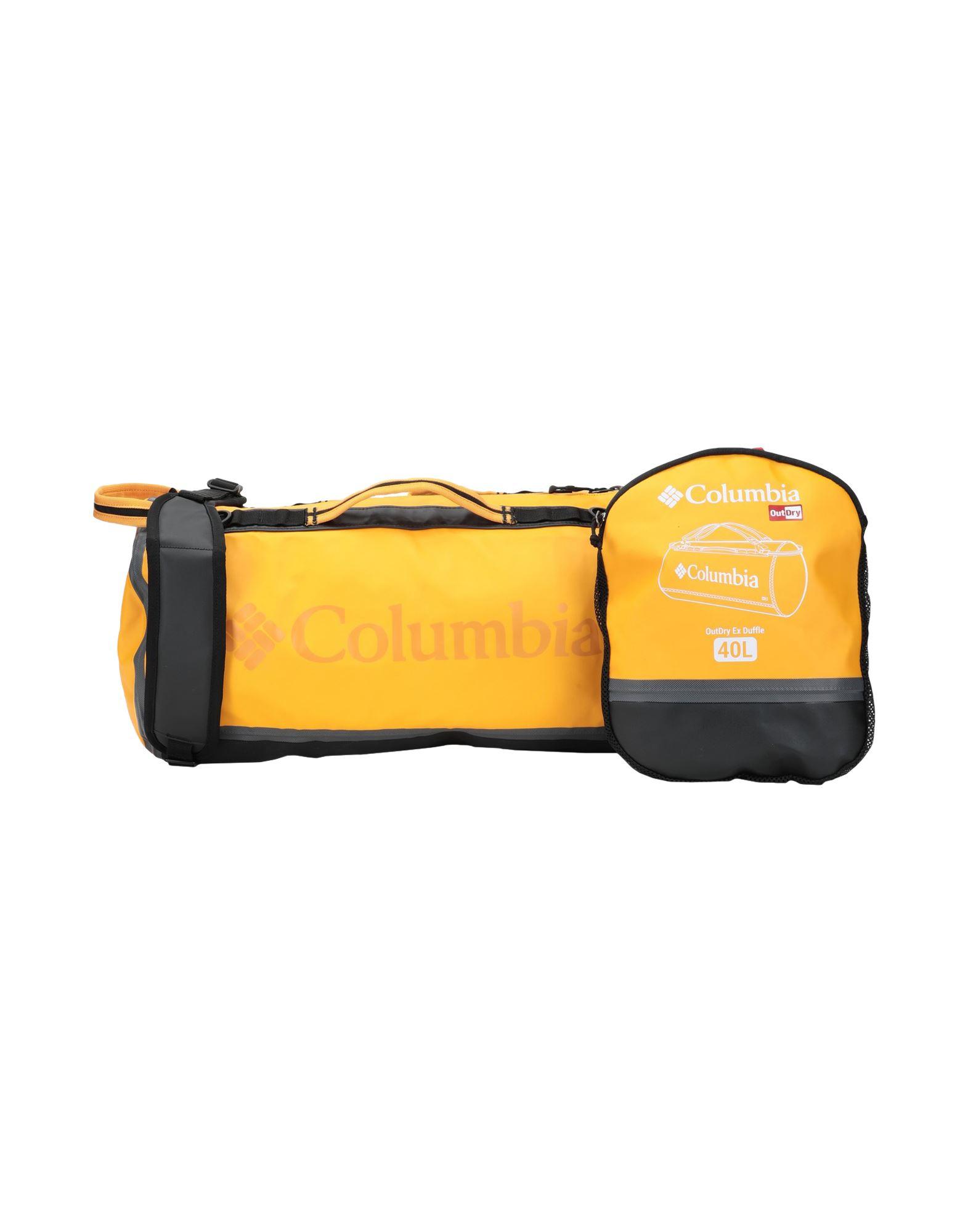 COLUMBIA コロンビア Unisex 旅行バッグ OutDry Ex 40L Duffle オークル - ブラック