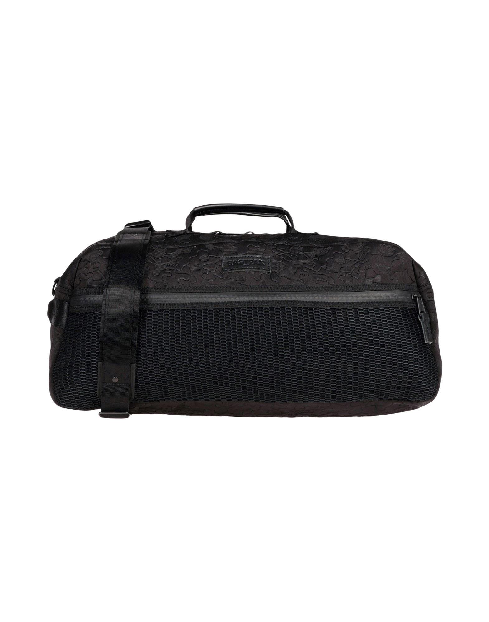 《セール開催中》EASTPAK レディース 旅行バッグ ブラック 紡績繊維