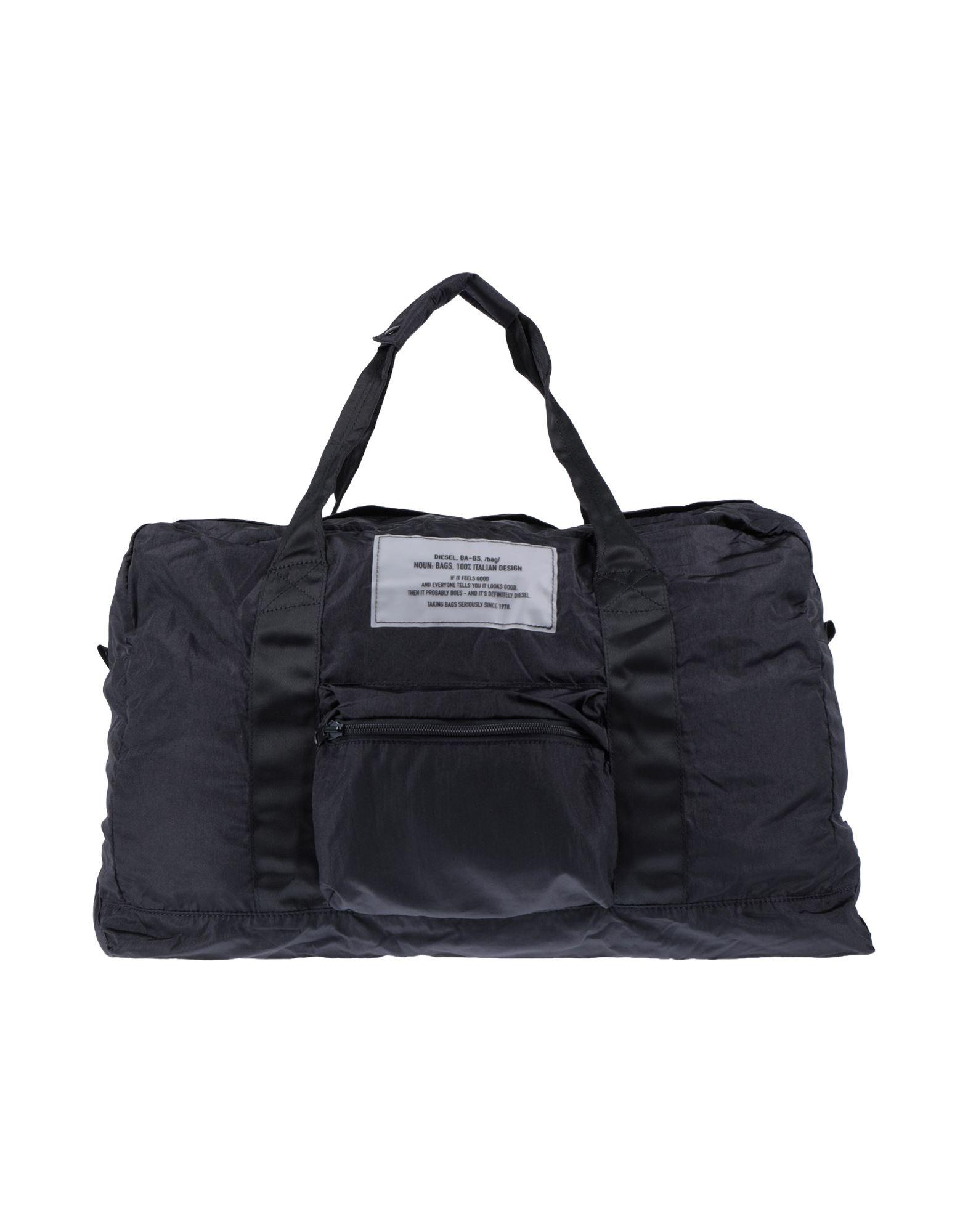 DIESEL ディーゼル メンズ 旅行バッグ ブラック