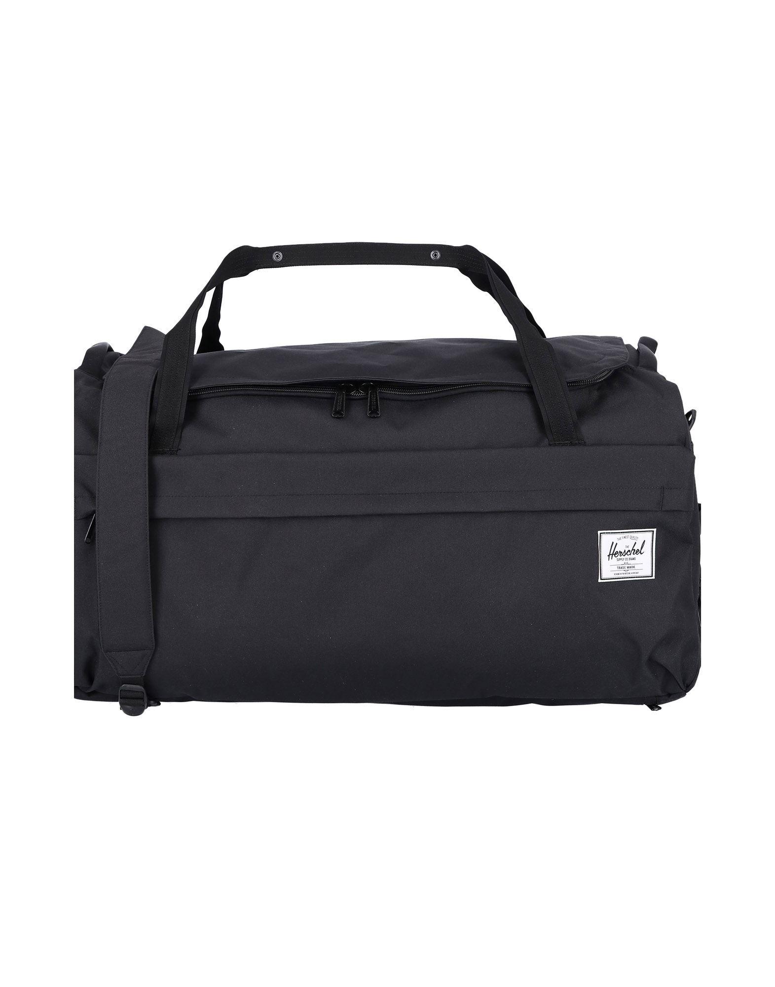 HERSCHEL SUPPLY CO. ハーシェル サプライ メンズ スーツケース ブラック - ミリタリーグリーン